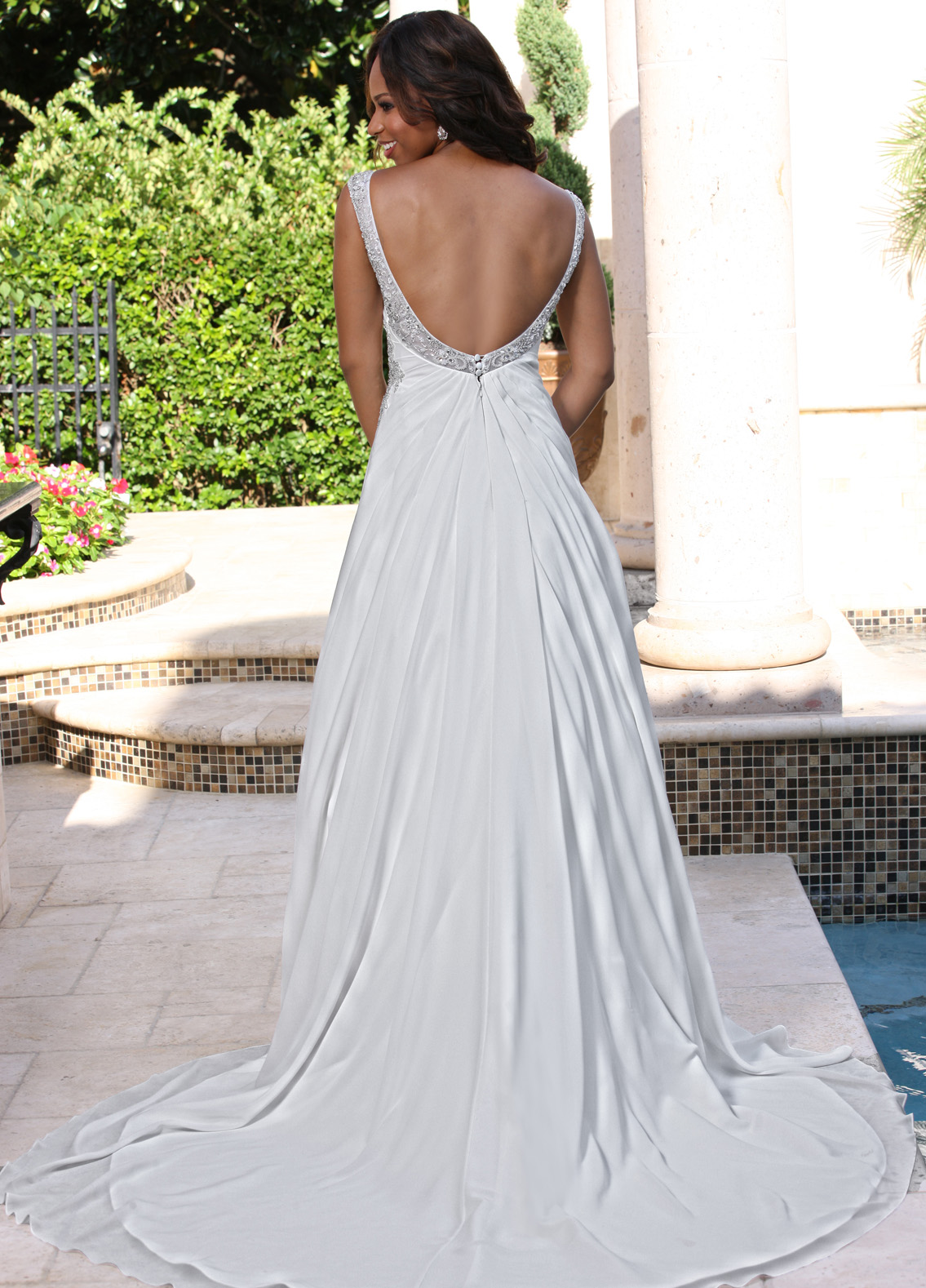 Back view of Style : 50372