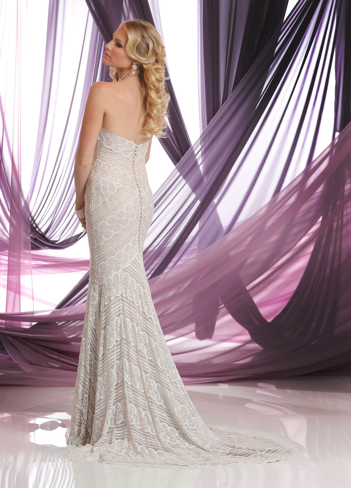 Back view of Style : 50409