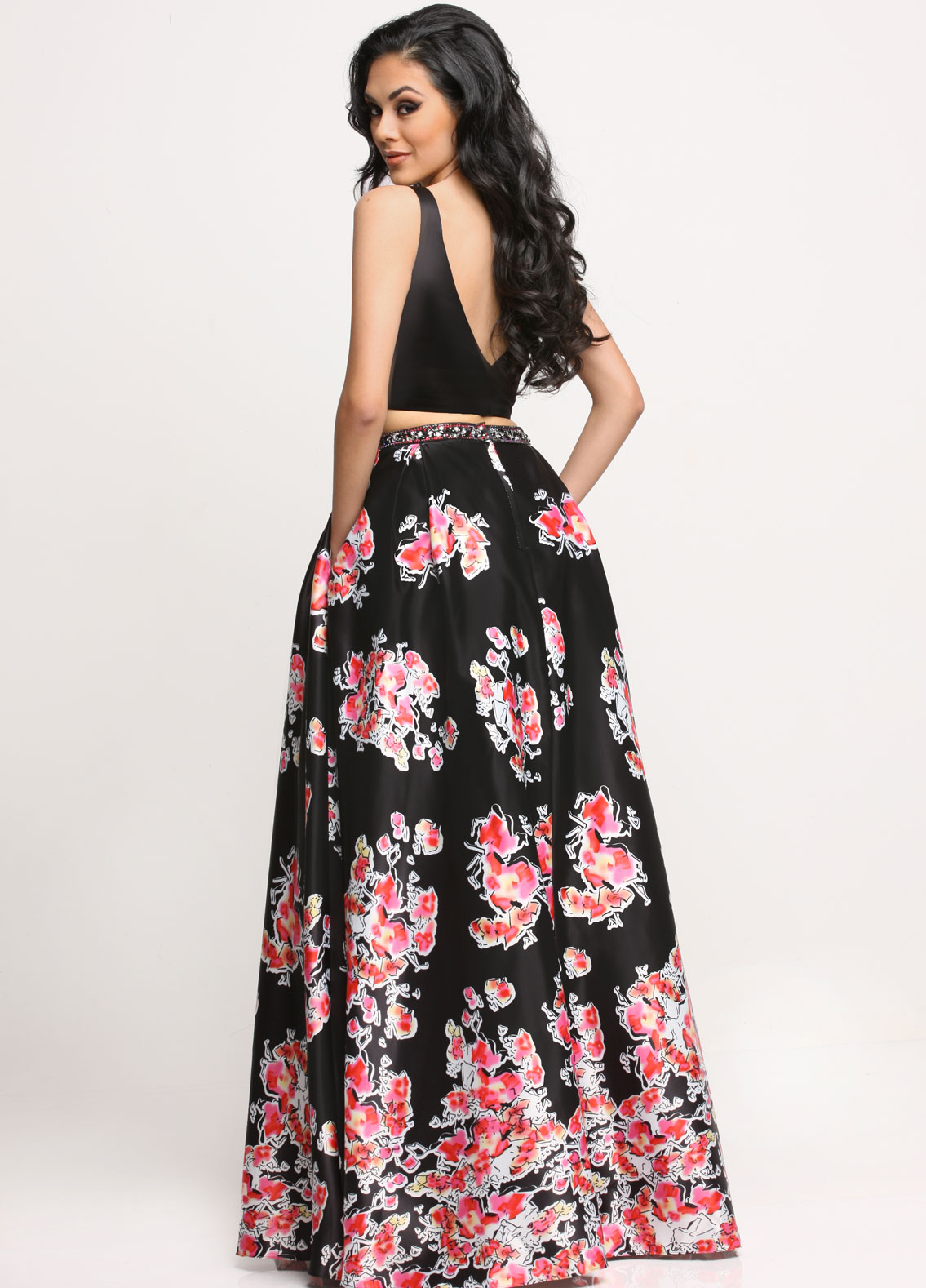 Image showing back view of style #71627