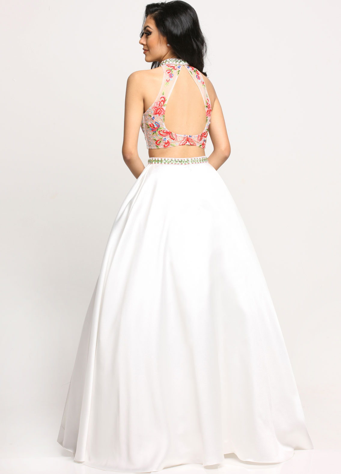 Image showing back view of style #71629