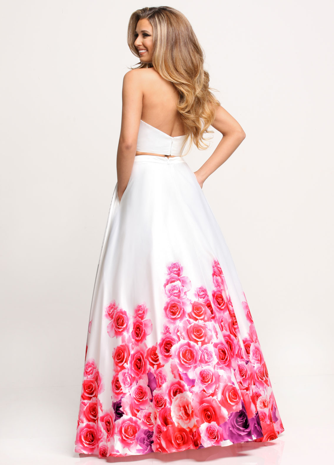 Image showing back view of style #71630