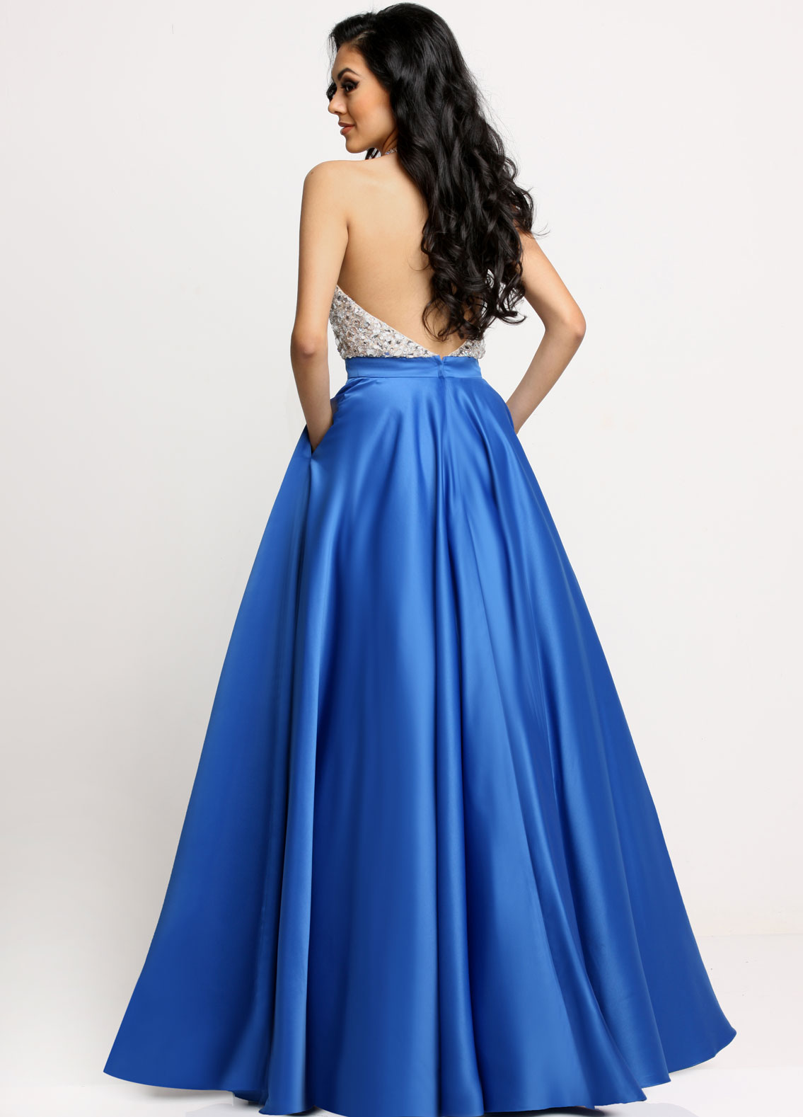 Image showing back view of style #71633