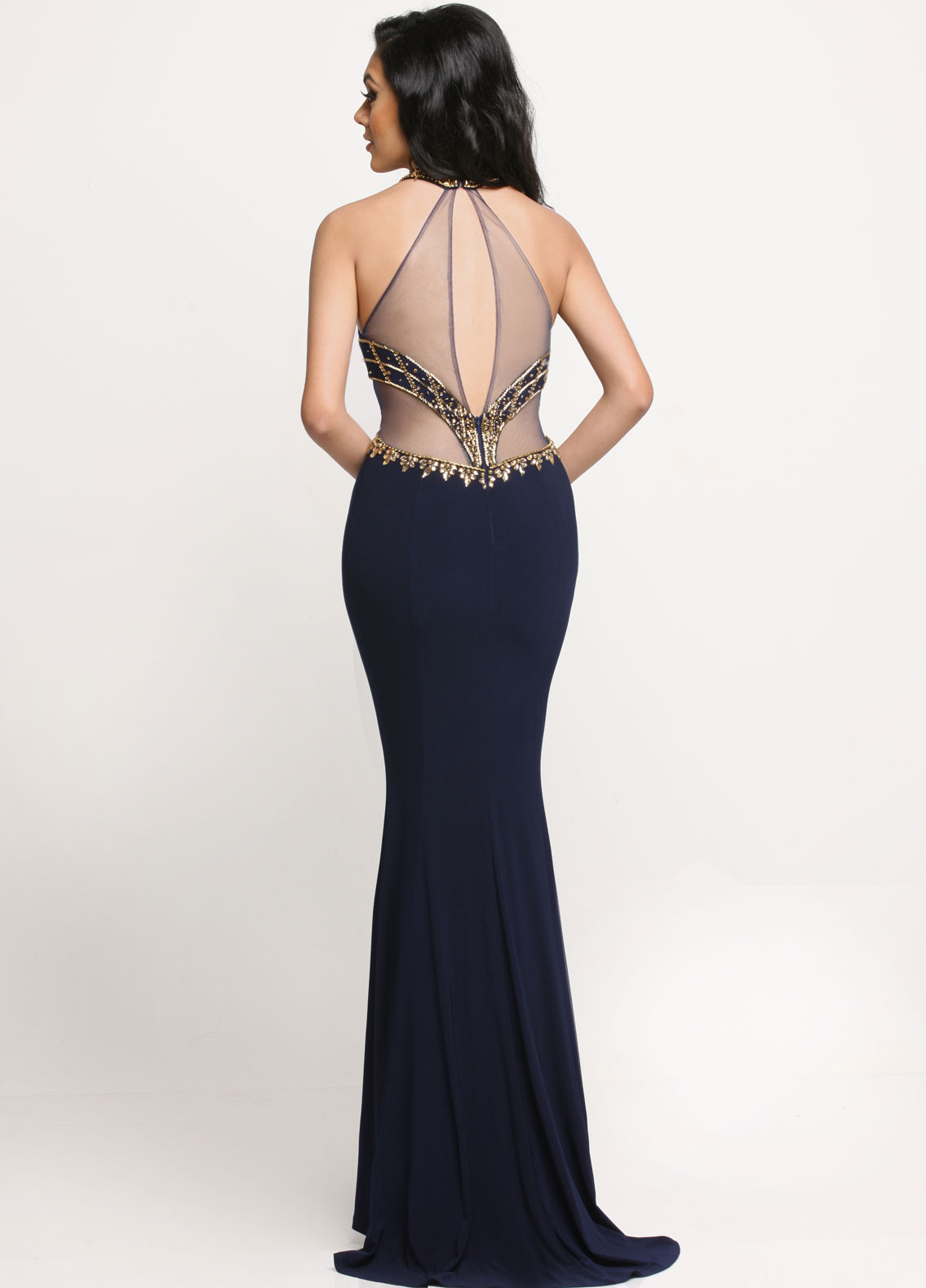 Image showing back view of style #71637