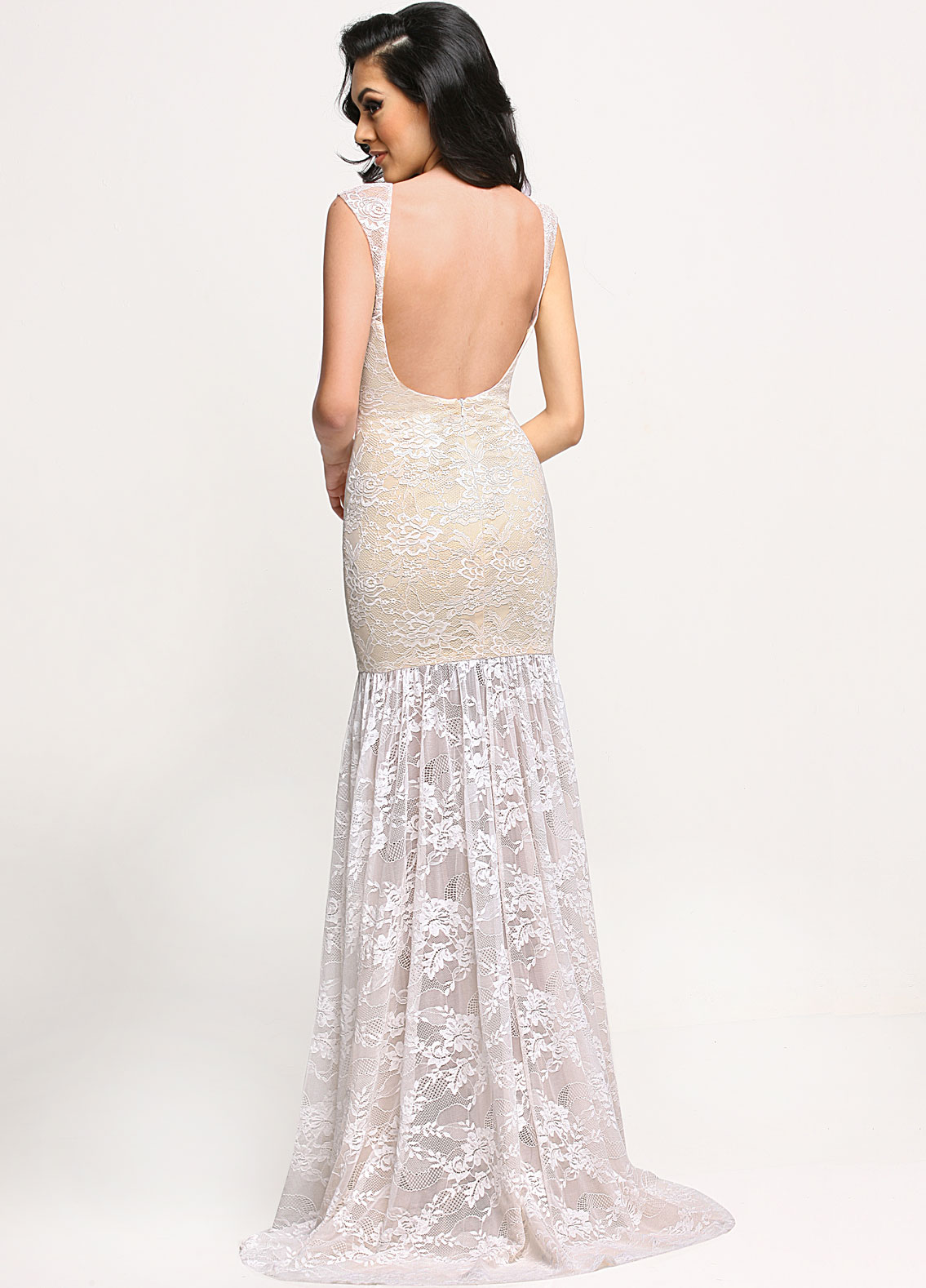Image showing back view of style #71650