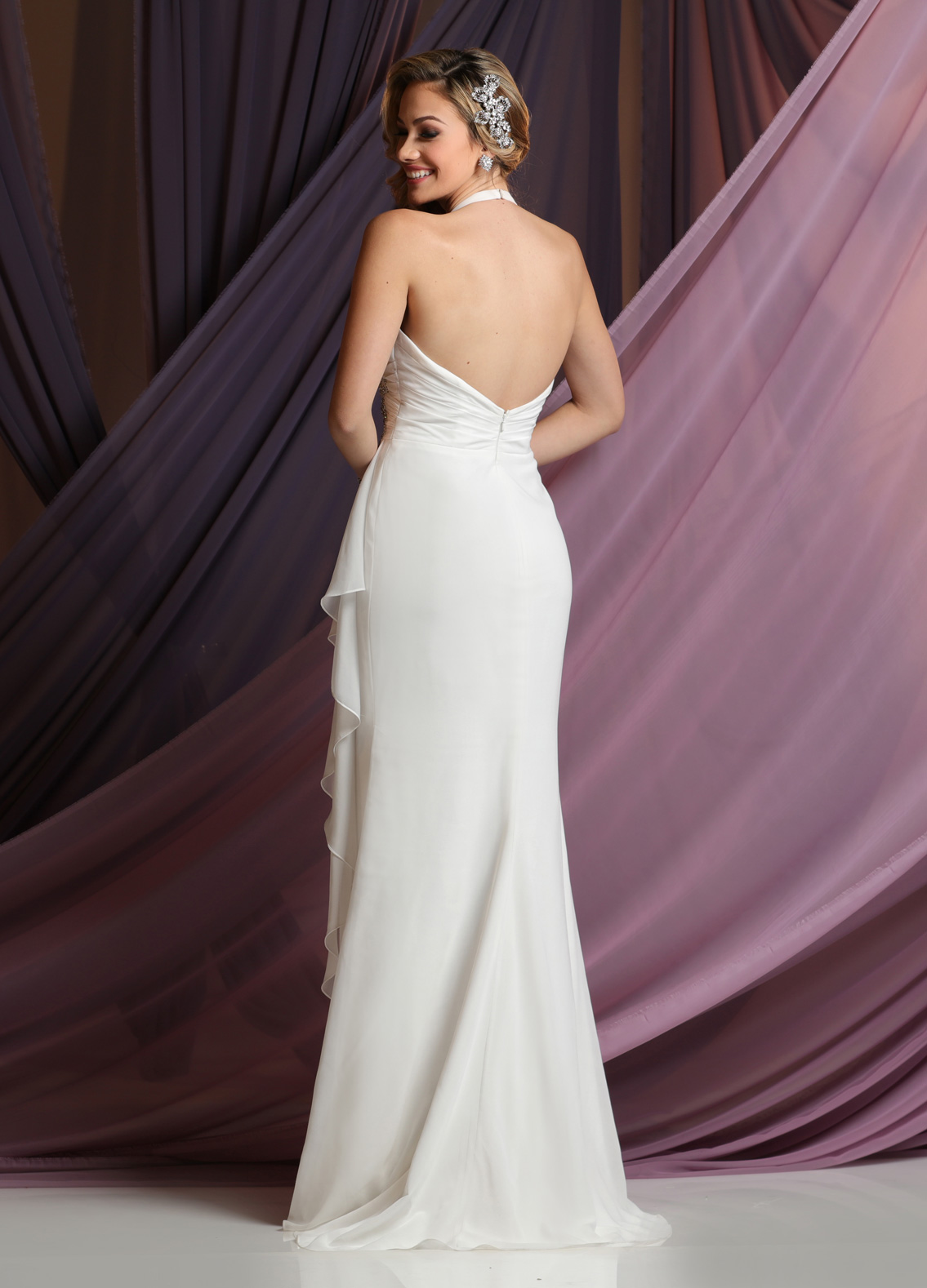 Back view of Style : F7040