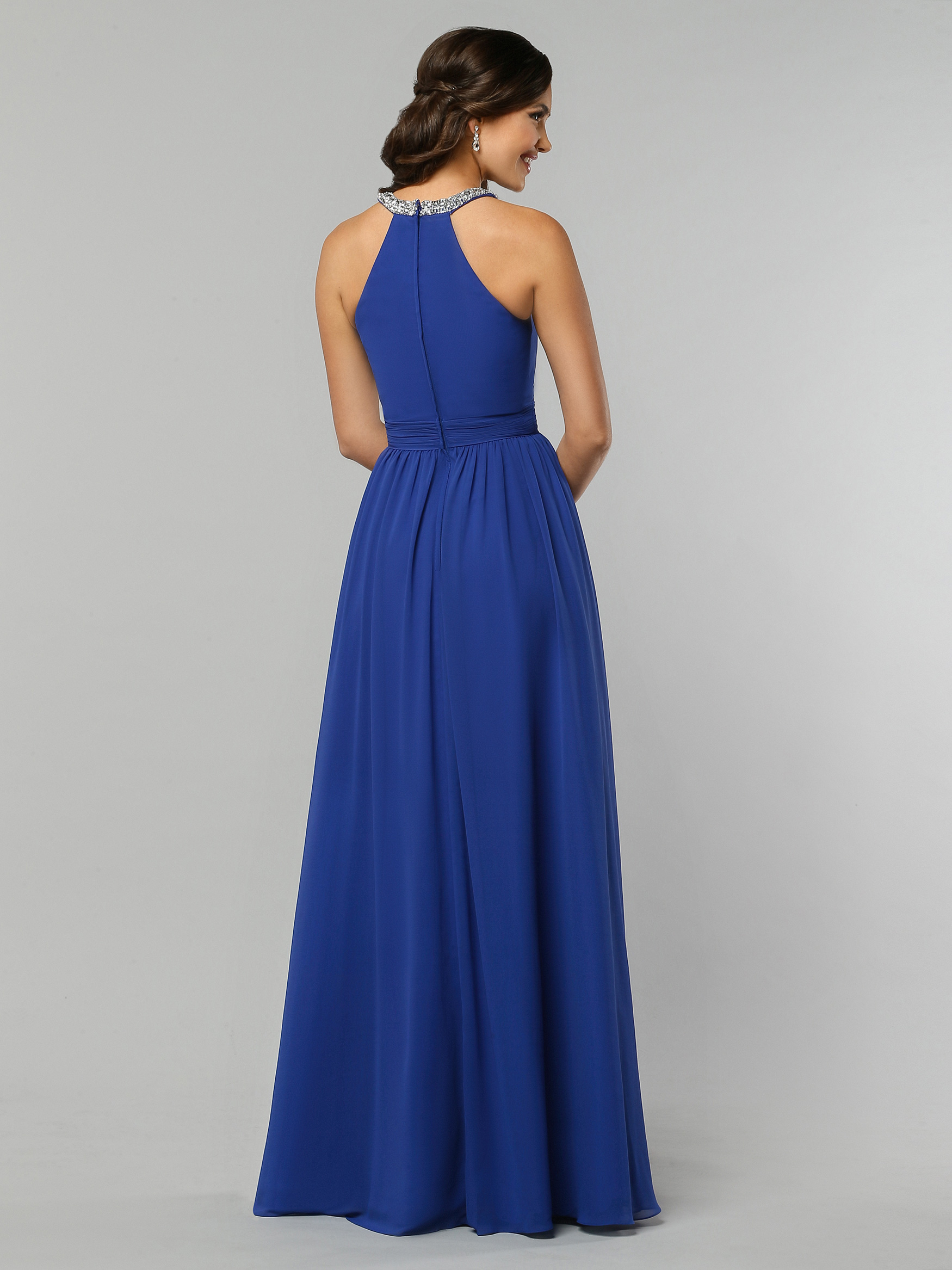 Bridesmaid dresses davinci bridal image showing back view of style 60326 ombrellifo Choice Image