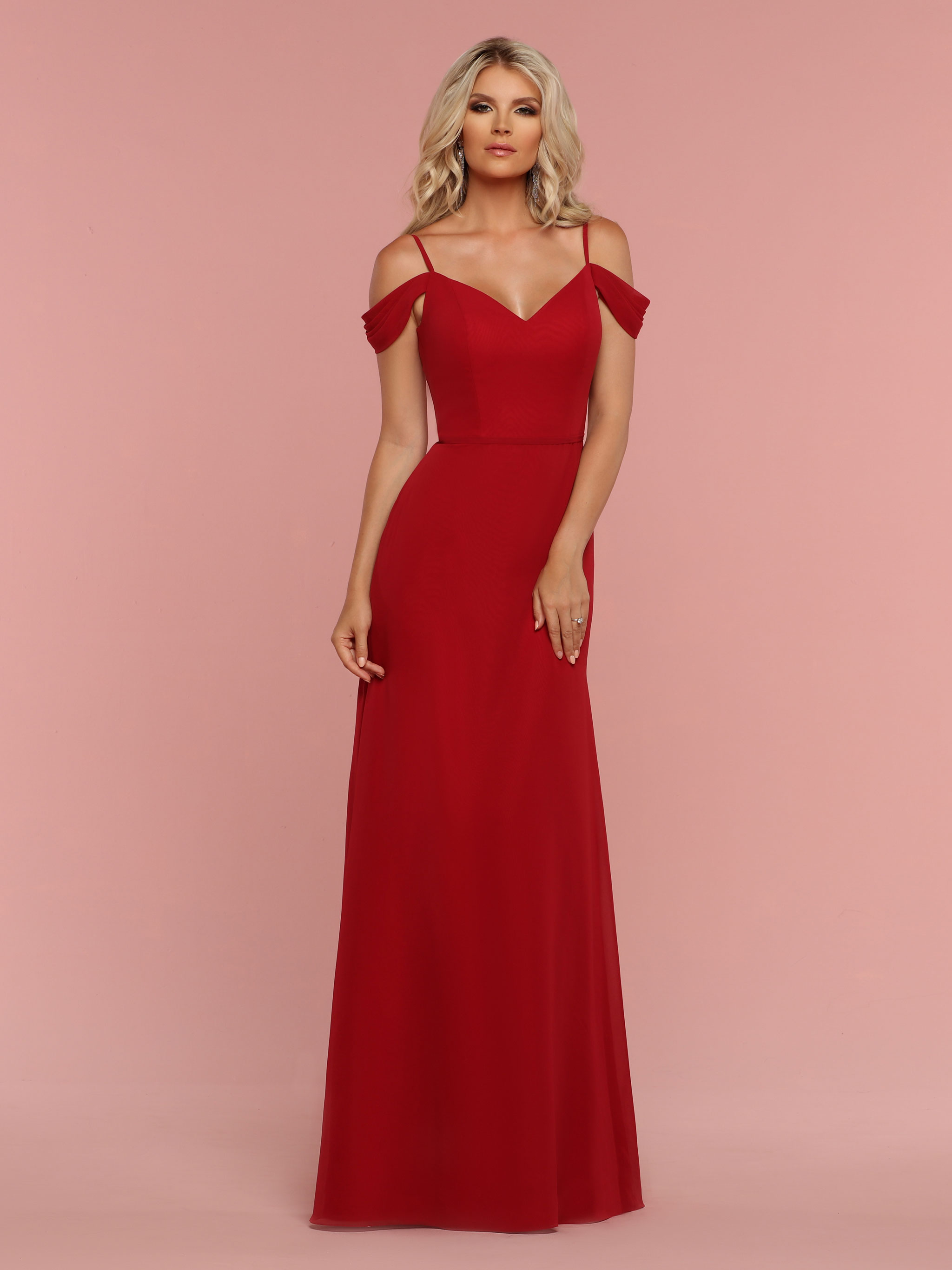 Bridesmaid dresses davinci bridal image showing front view of style 60331 ombrellifo Images