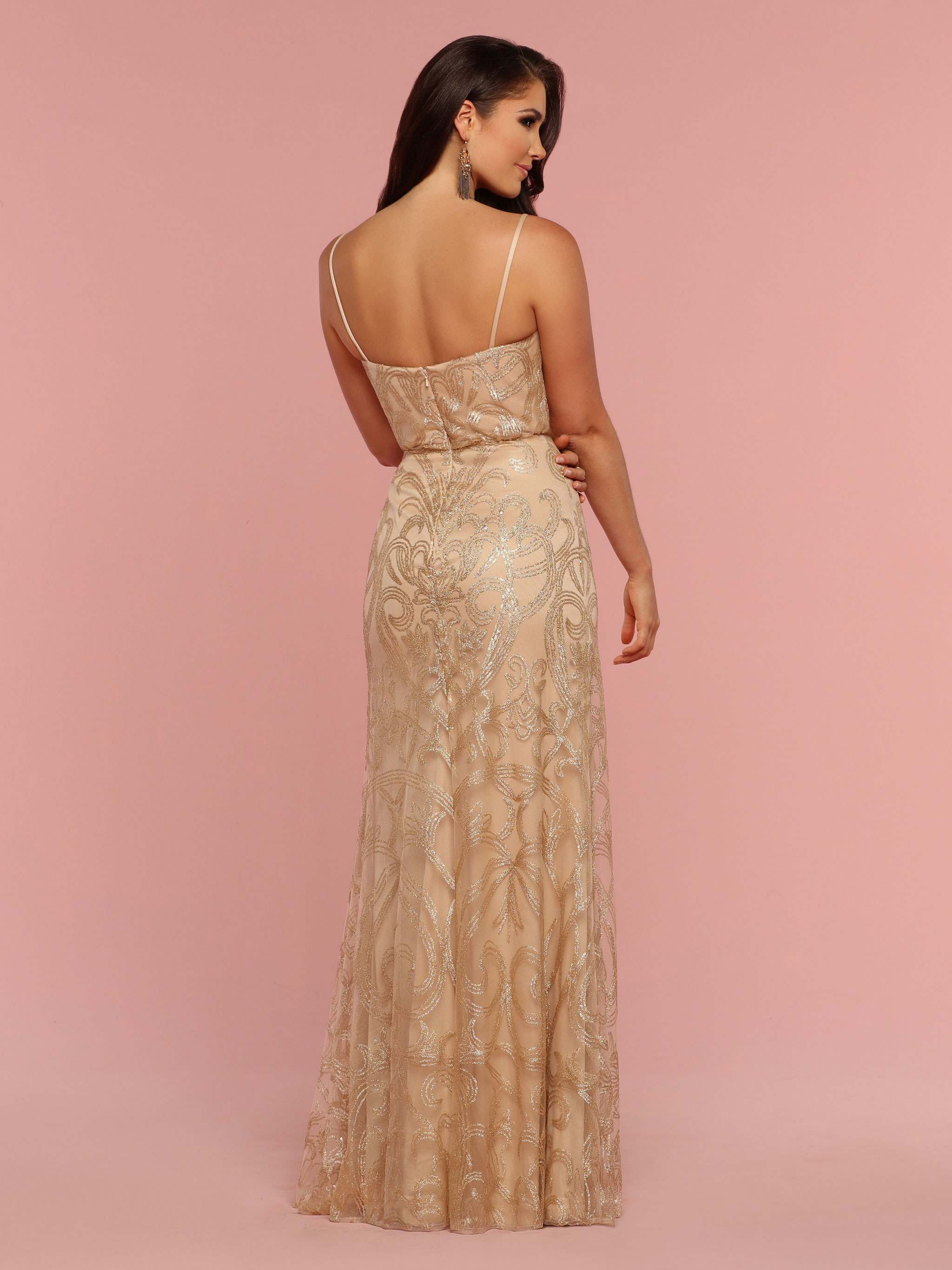 Back view of Style : 60335