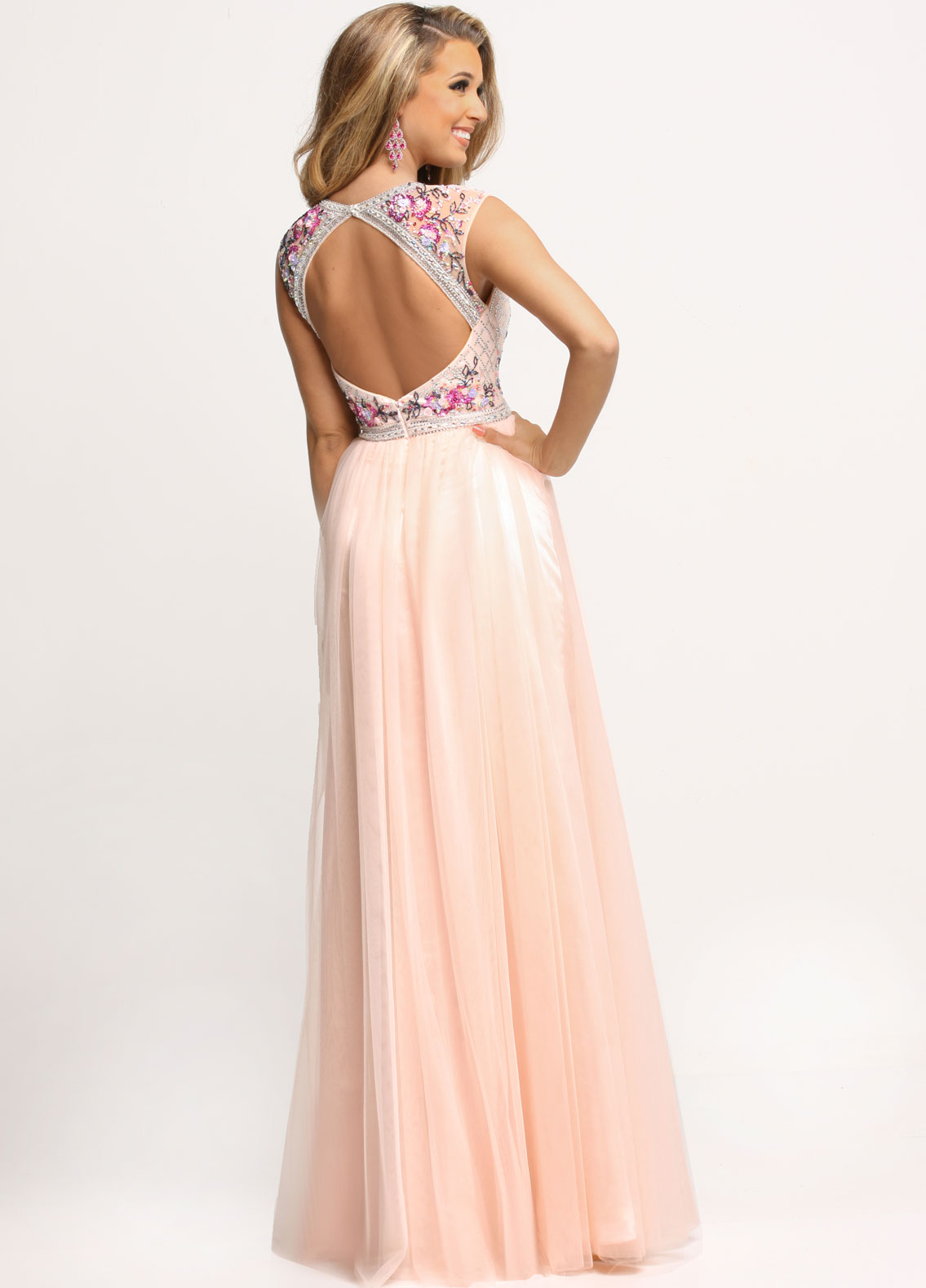 Image showing back view of style #71641