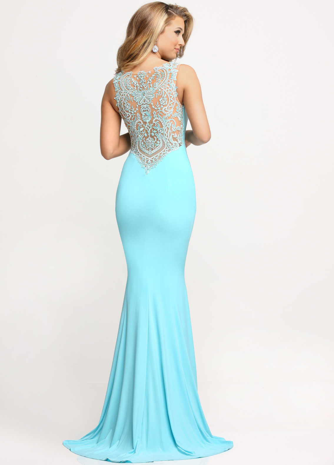 Image showing back view of style #71644