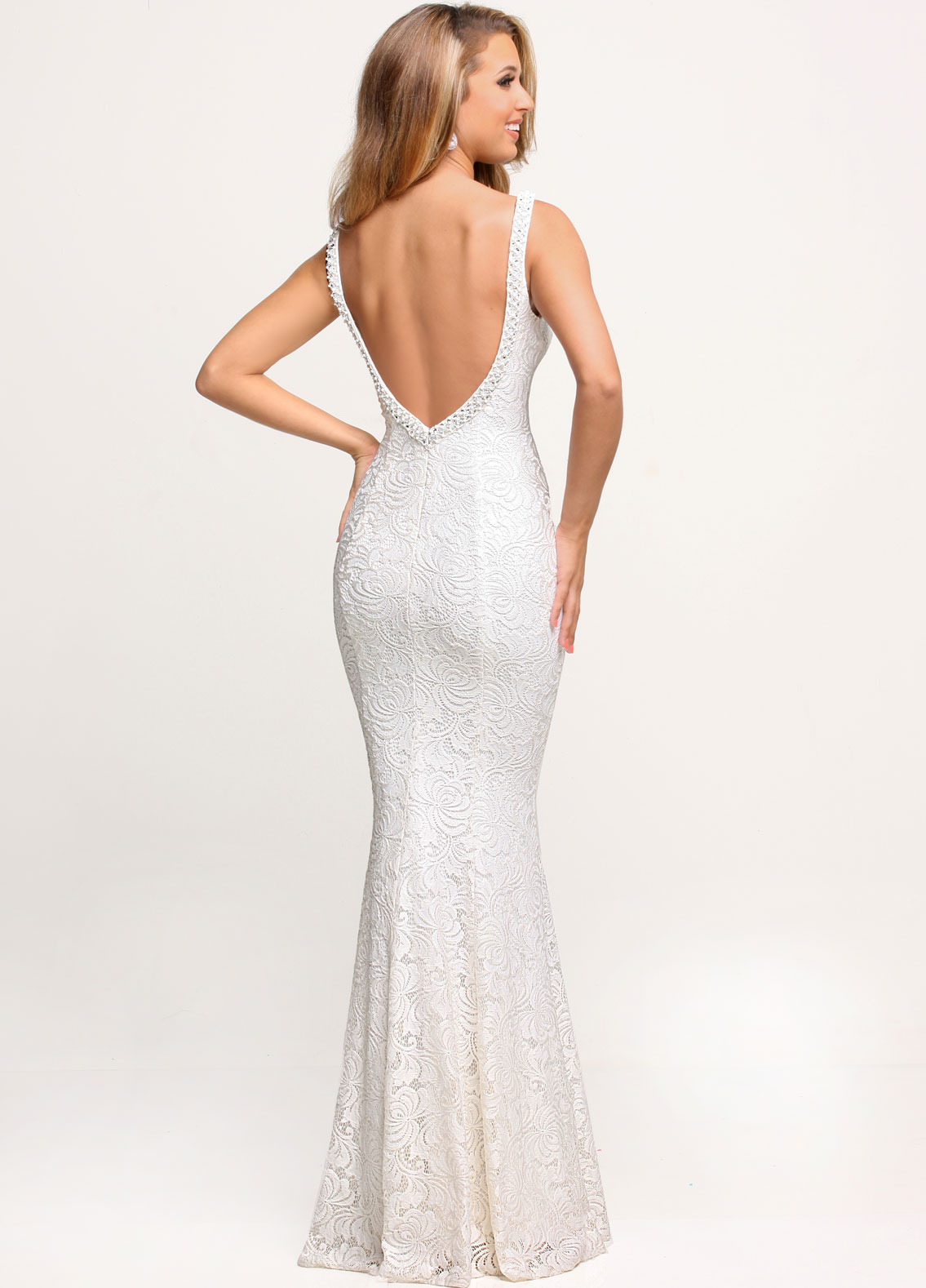 Image showing back view of style #71652