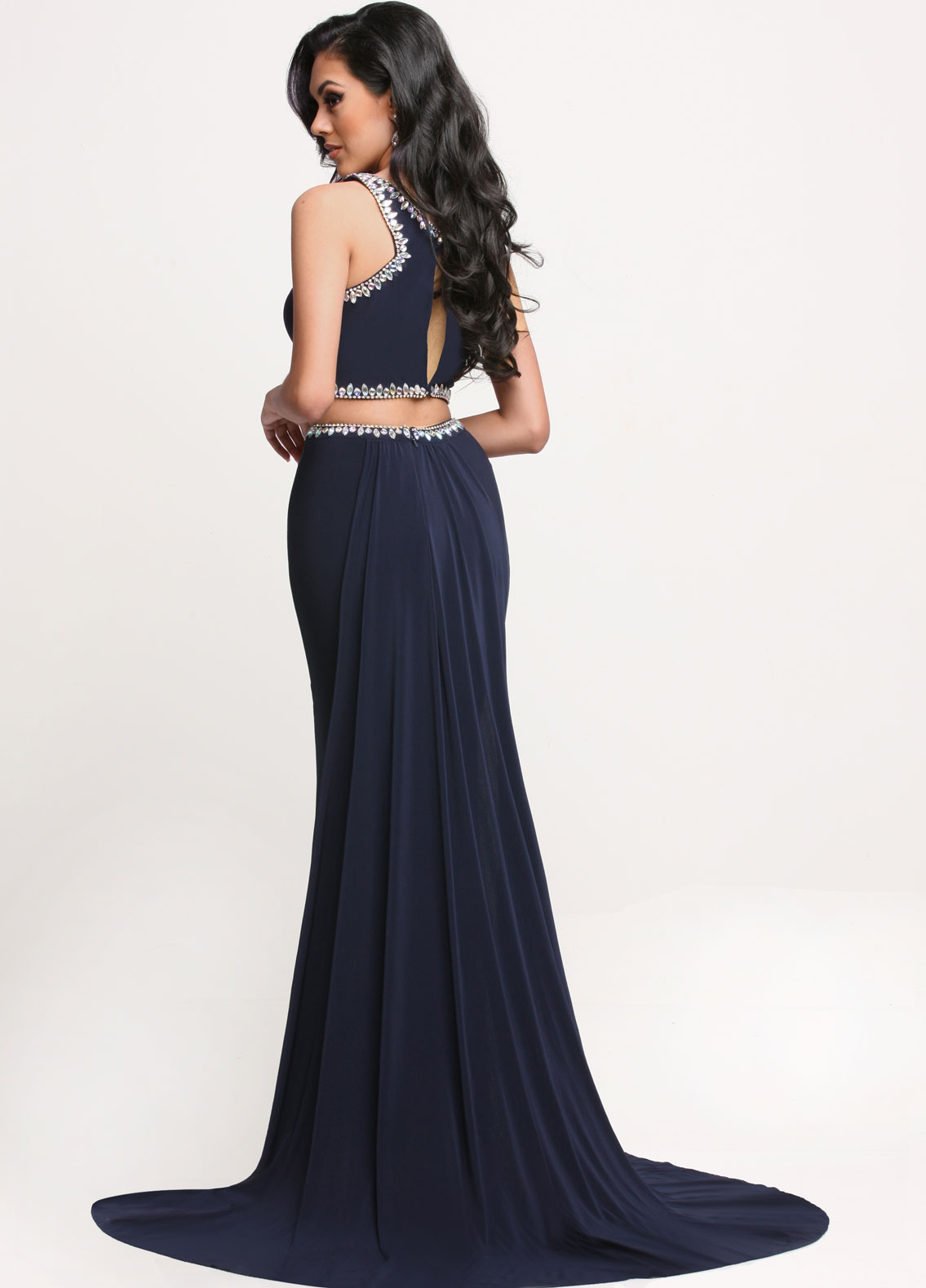 Image showing back view of style #71659