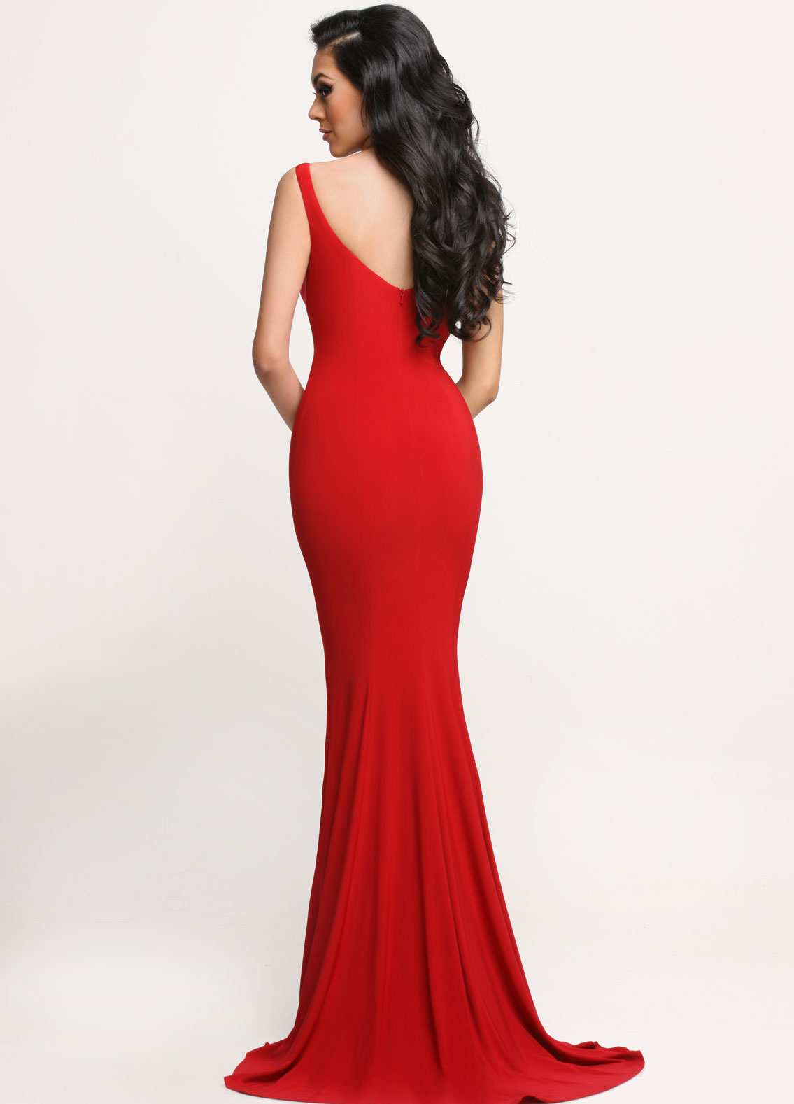 Image showing back view of style #71664
