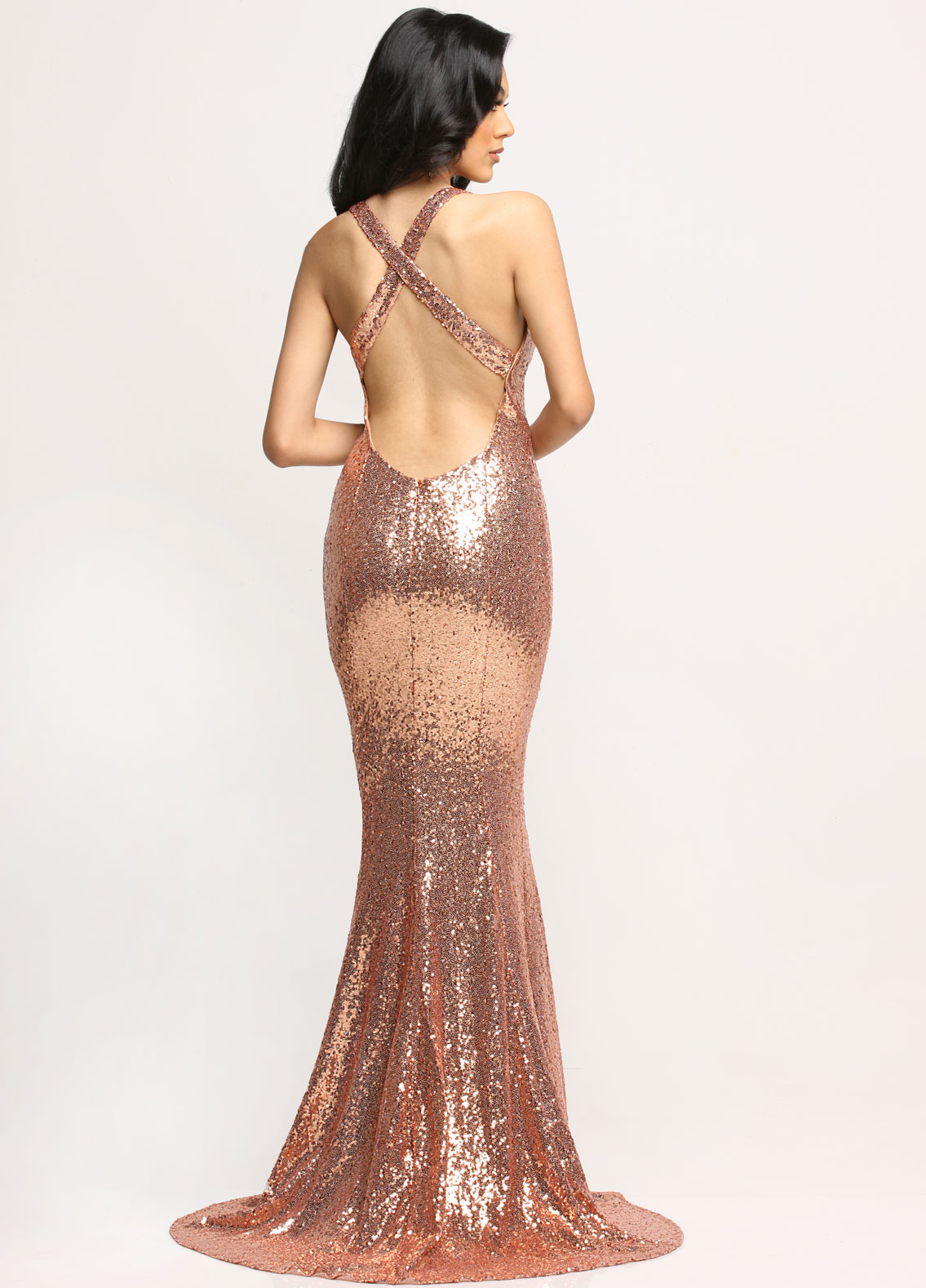 Image showing back view of style #71667