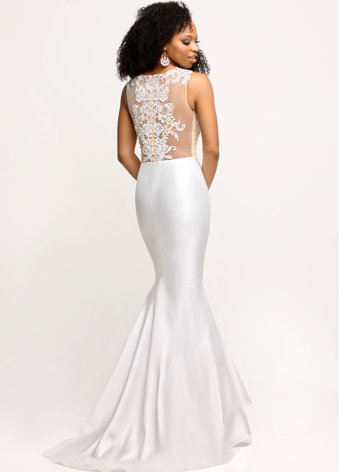 Image showing back view of style #71669