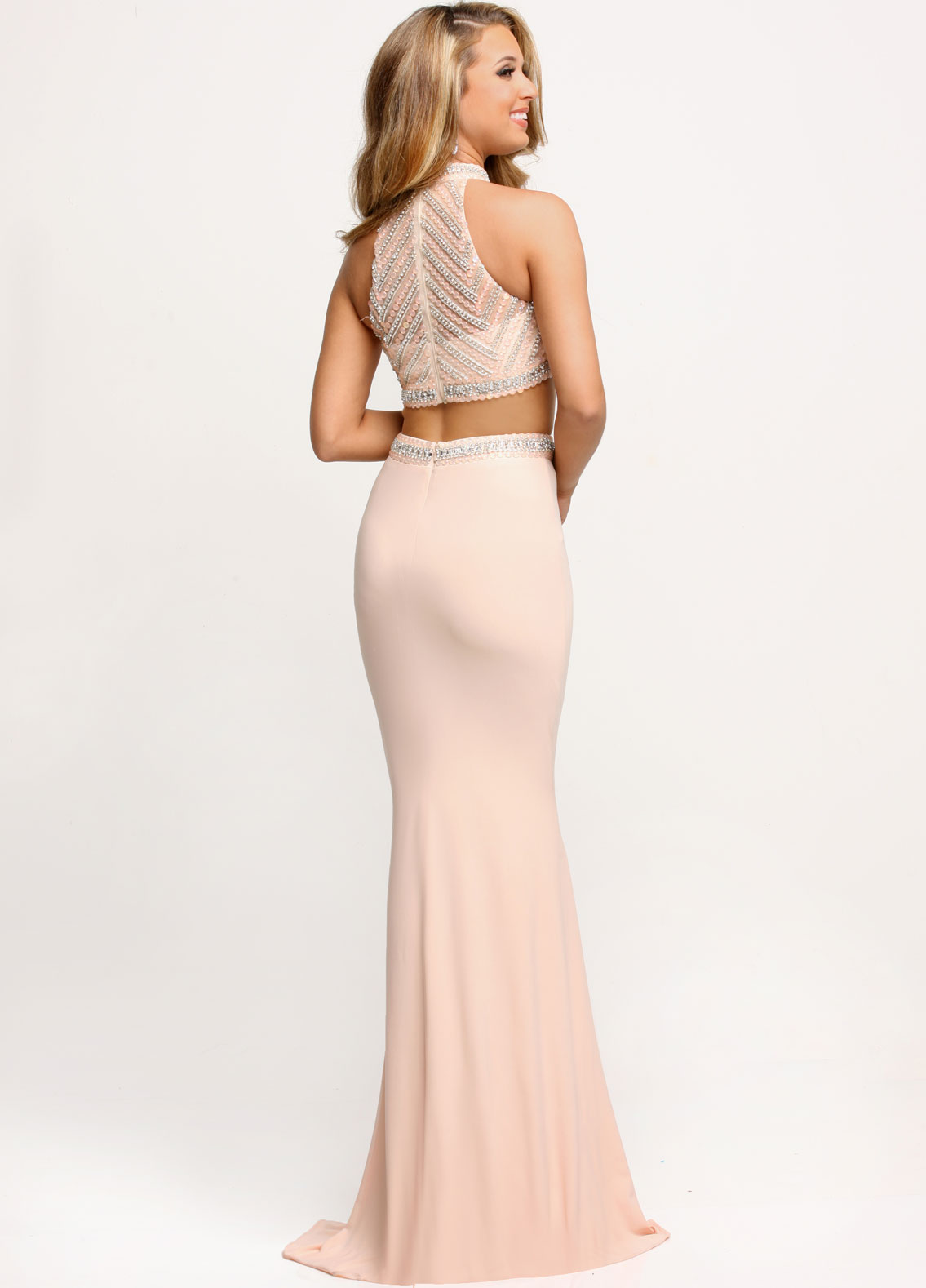 Image showing back view of style #71684