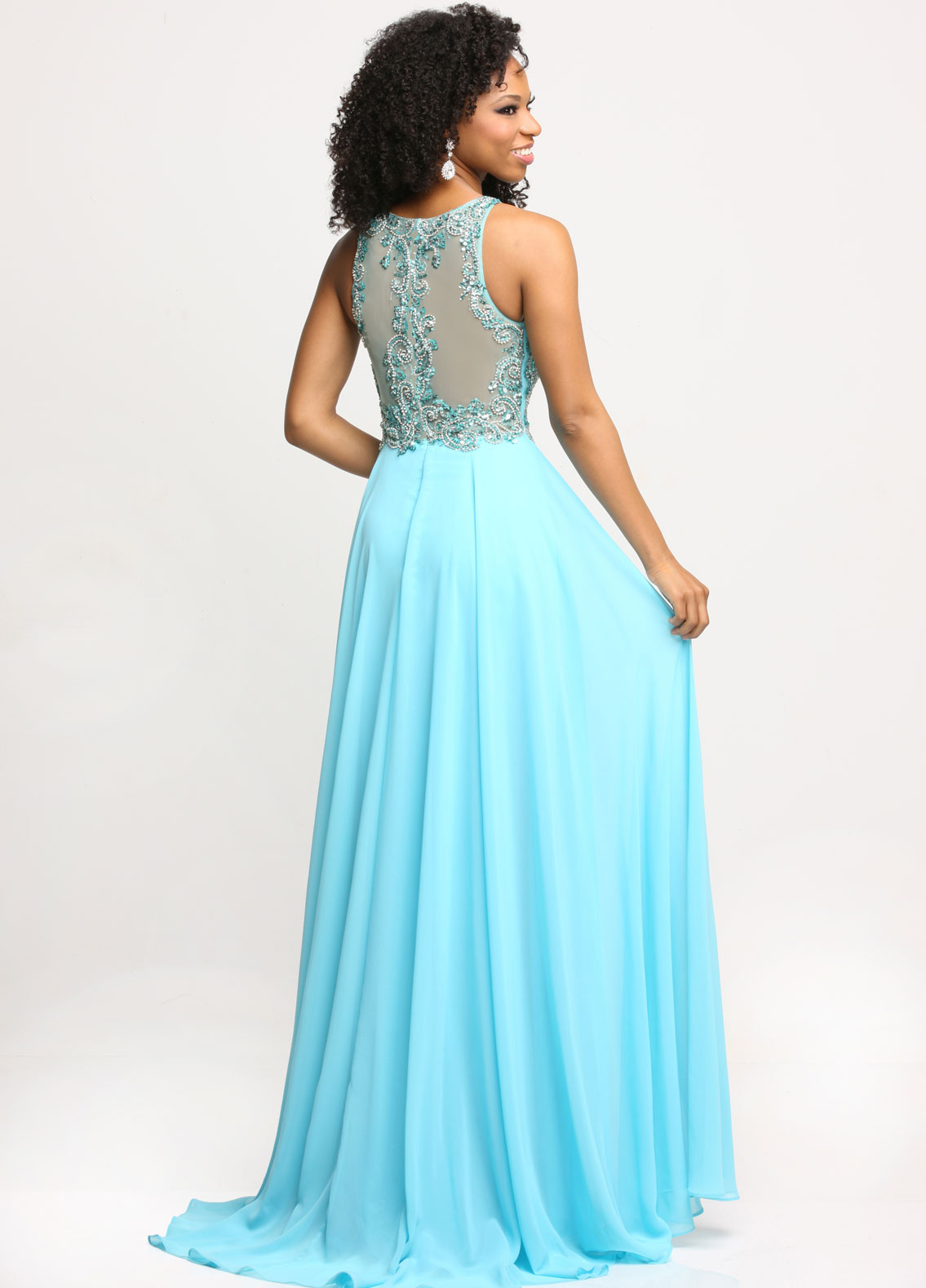 Image showing back view of style #71688