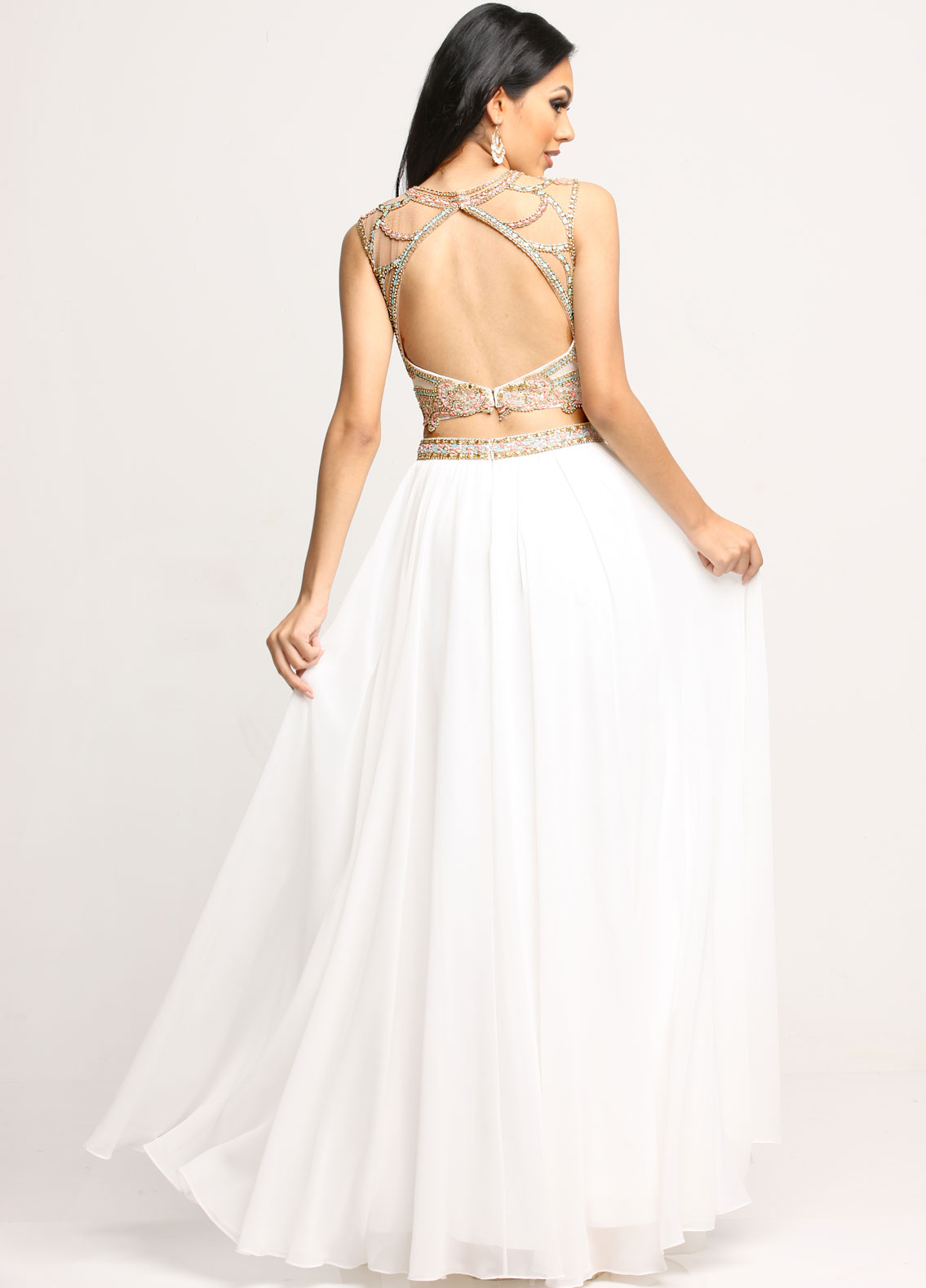 Image showing back view of style #71695