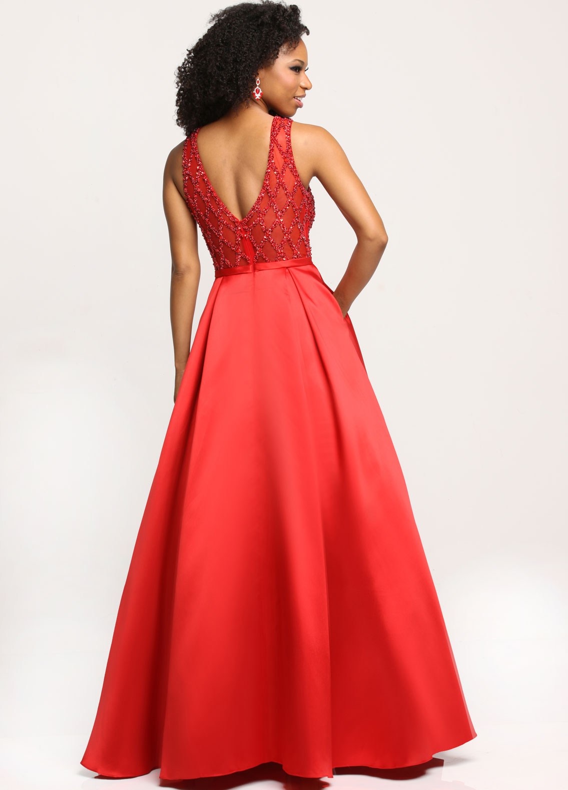 Image showing back view of style #71702