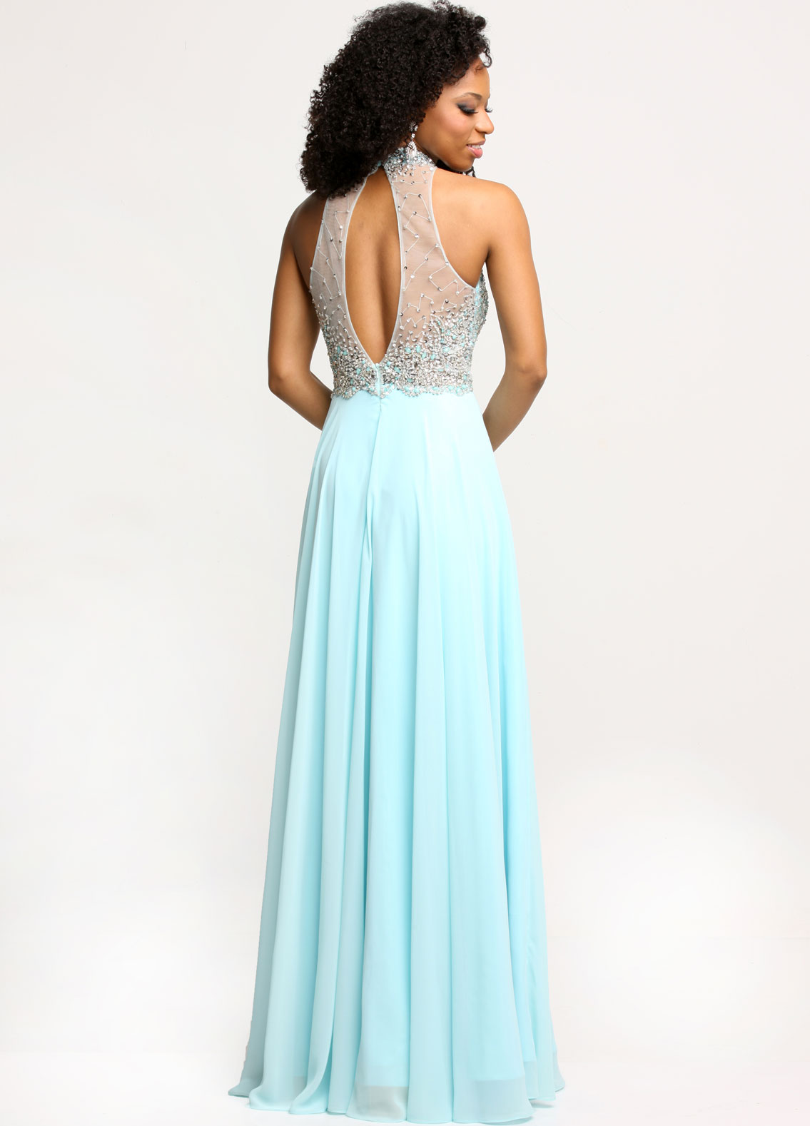Image showing back view of style #71711