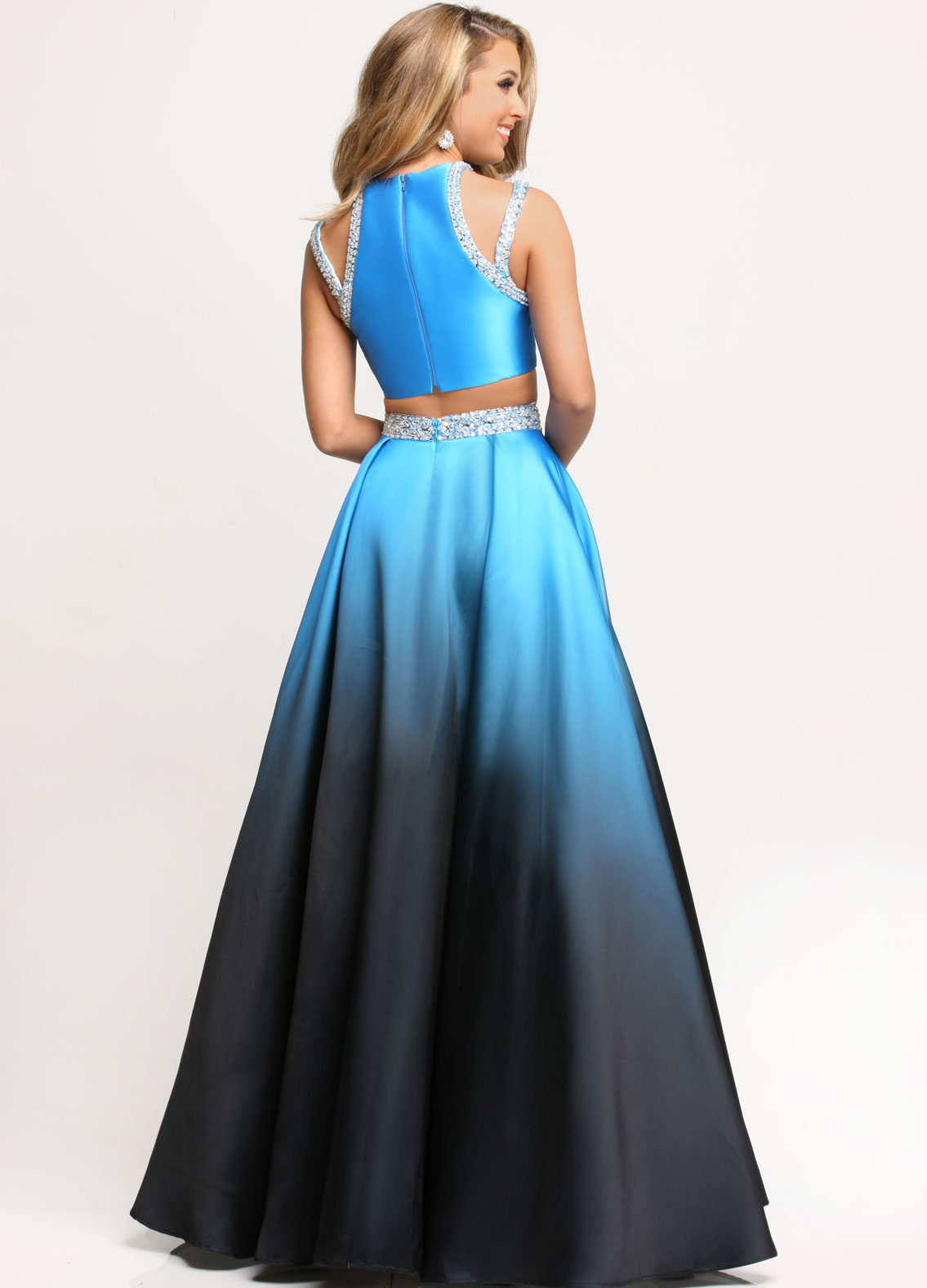 Image showing back view of style #71718