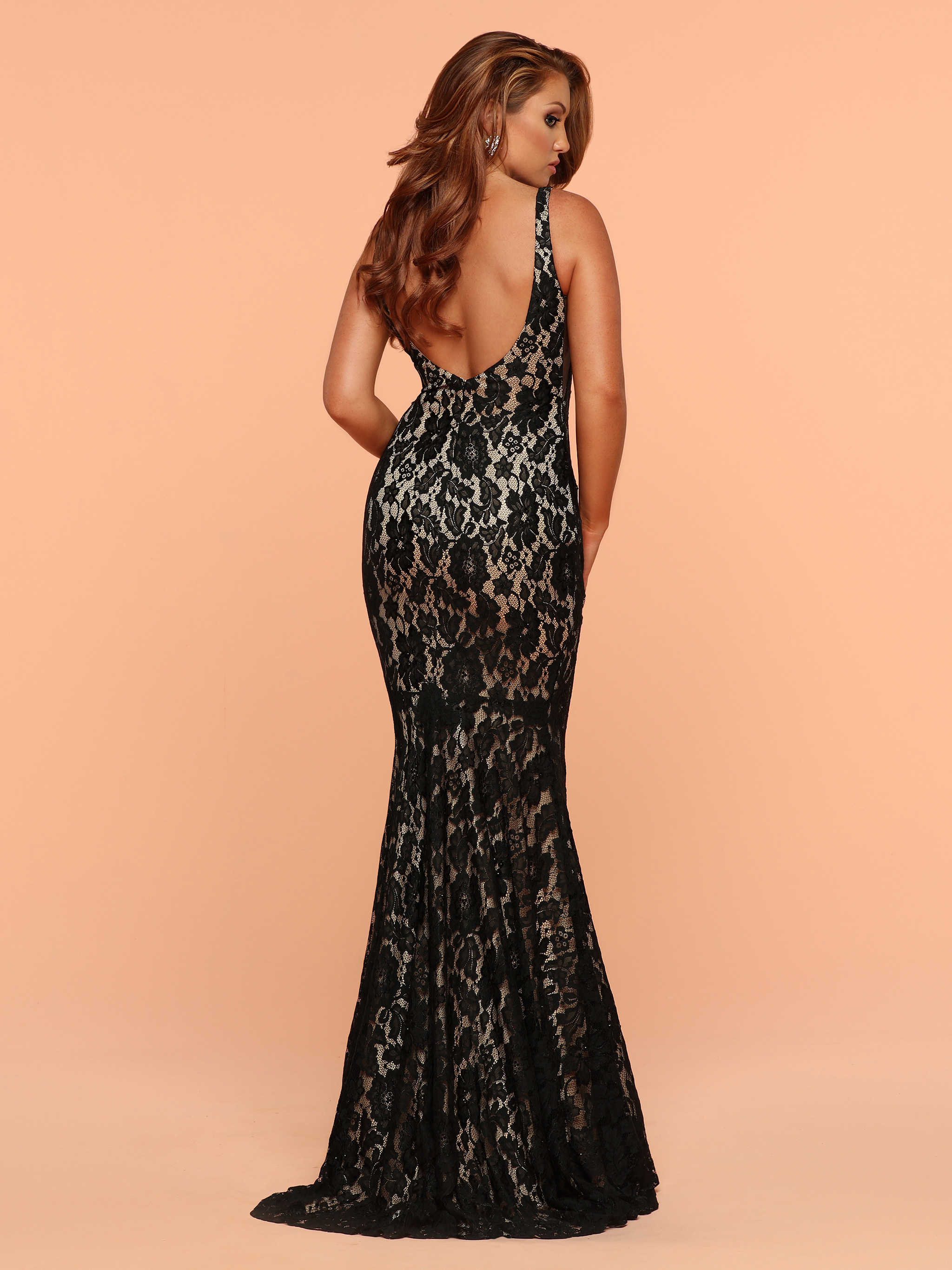 Image showing back view of style #71812