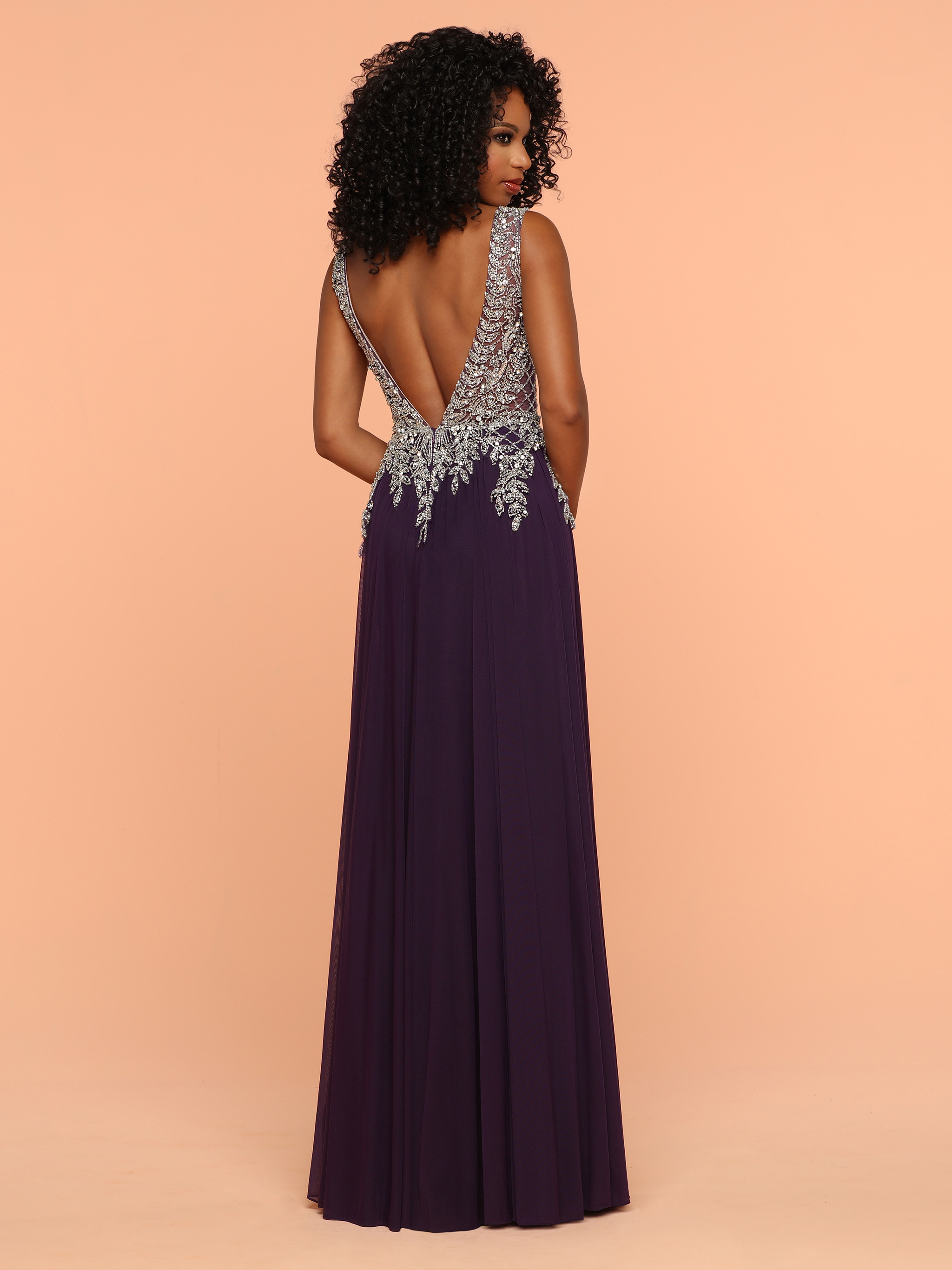 Image showing back view of style #71815