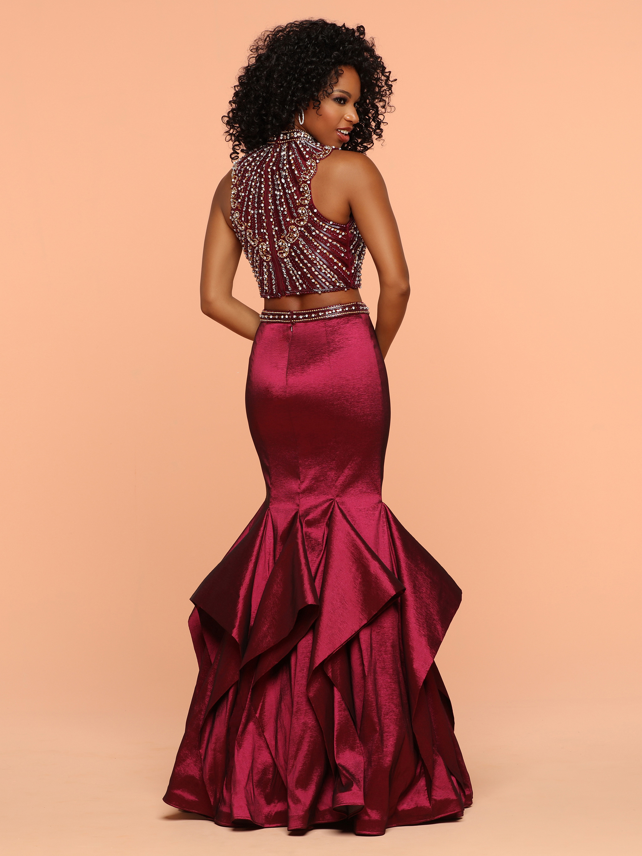 Image showing back view of style #71827