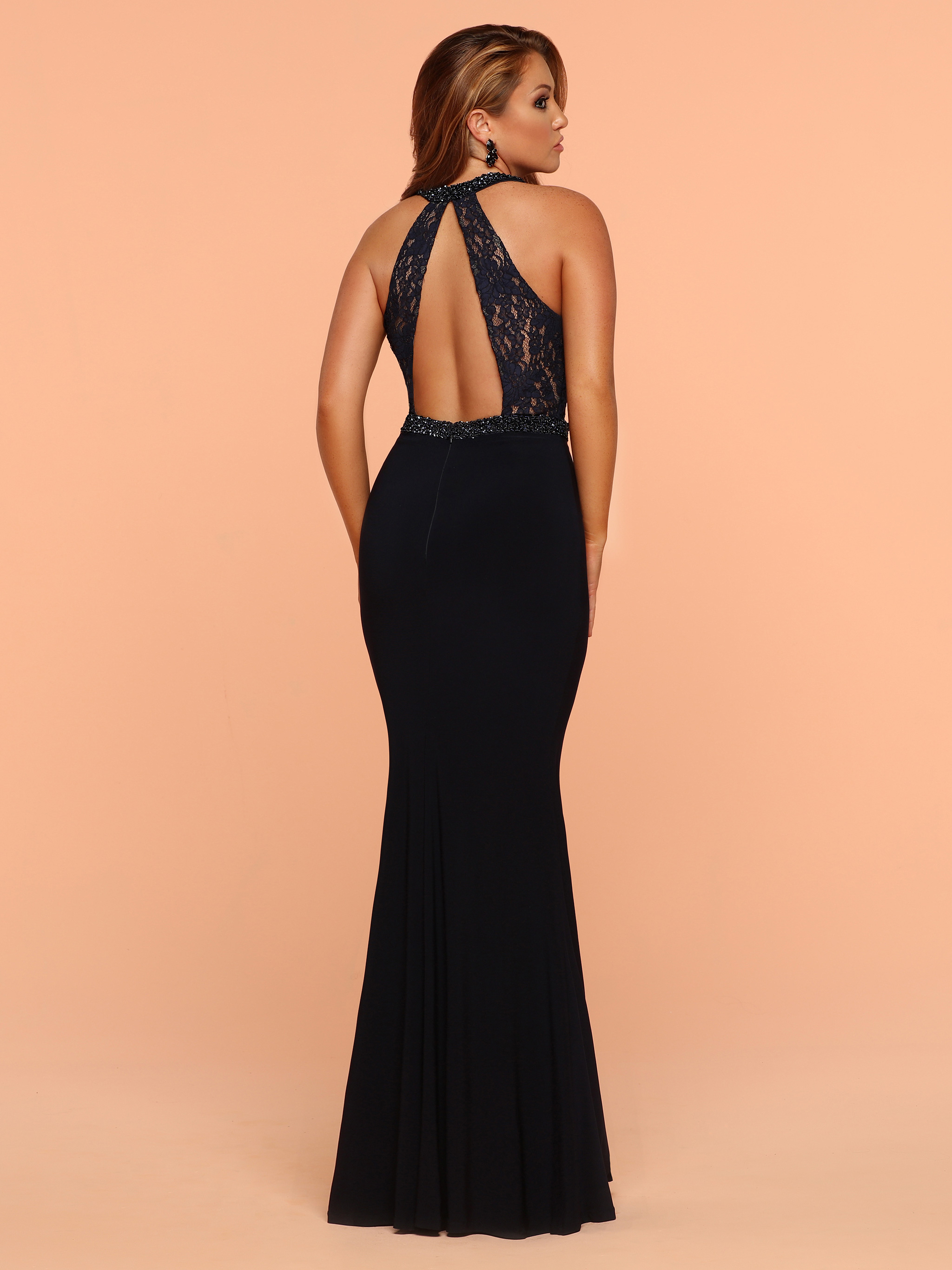 Image showing back view of style #71828