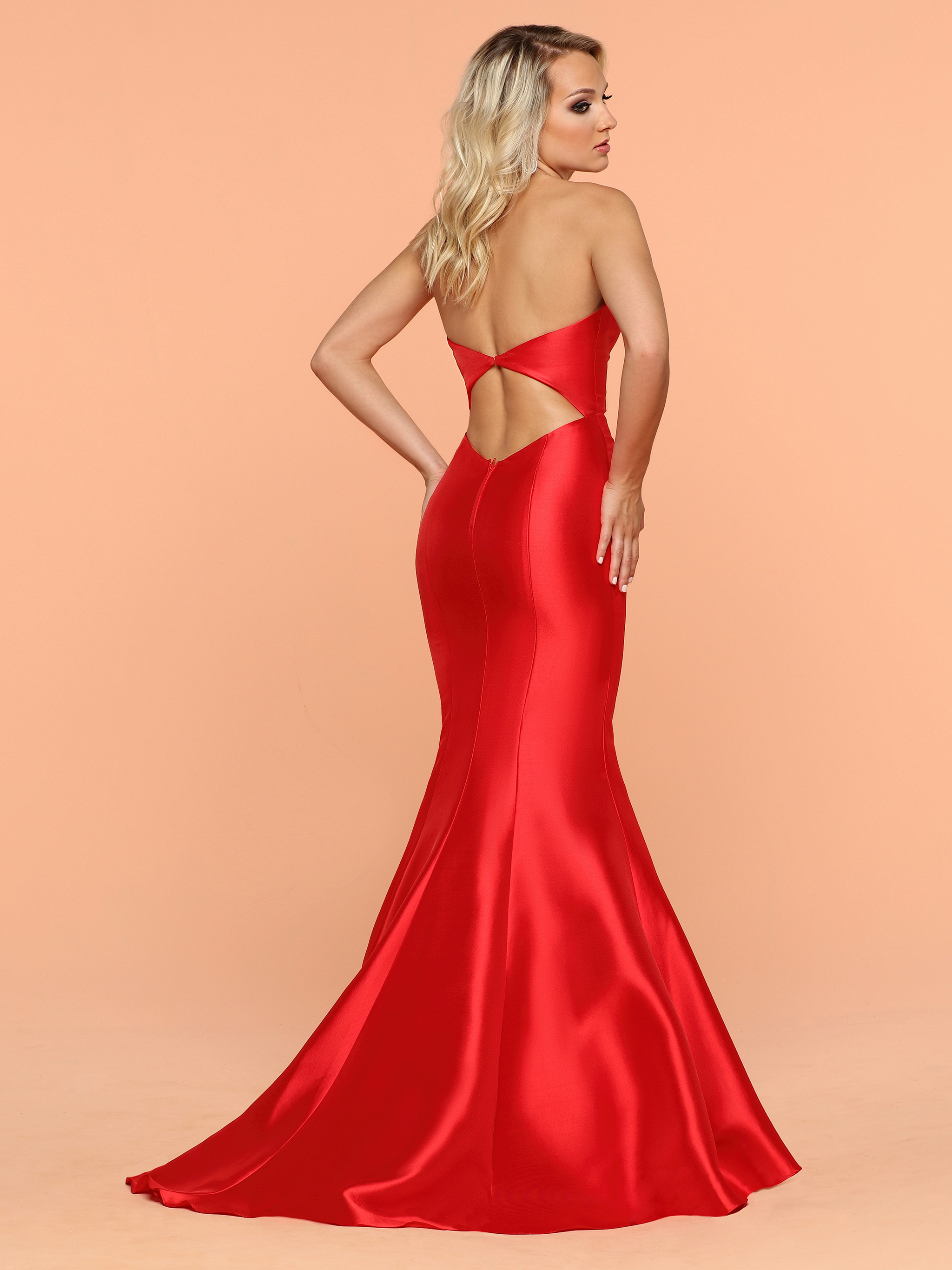 Image showing back view of style #71829