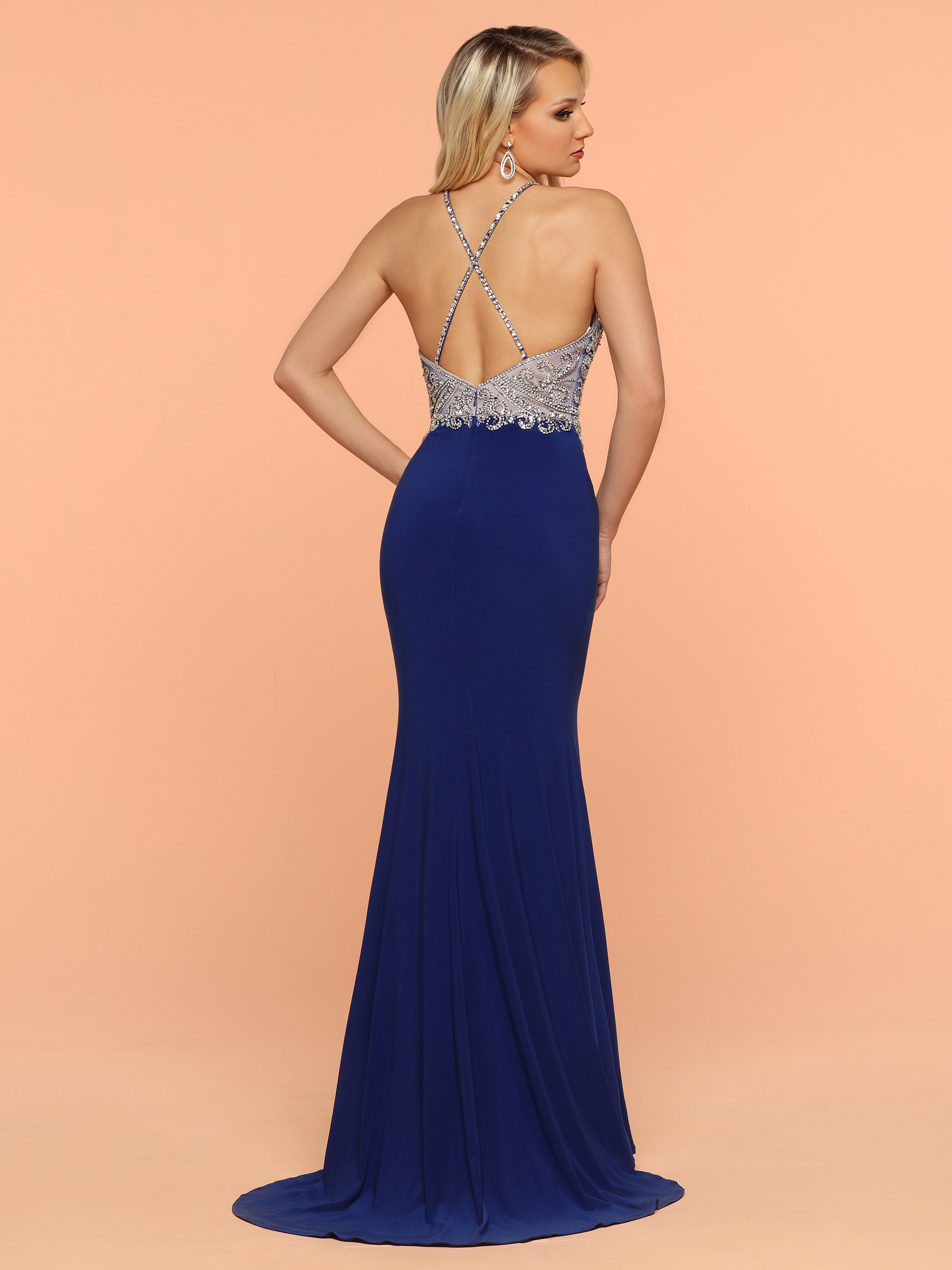 Image showing back view of style #71831