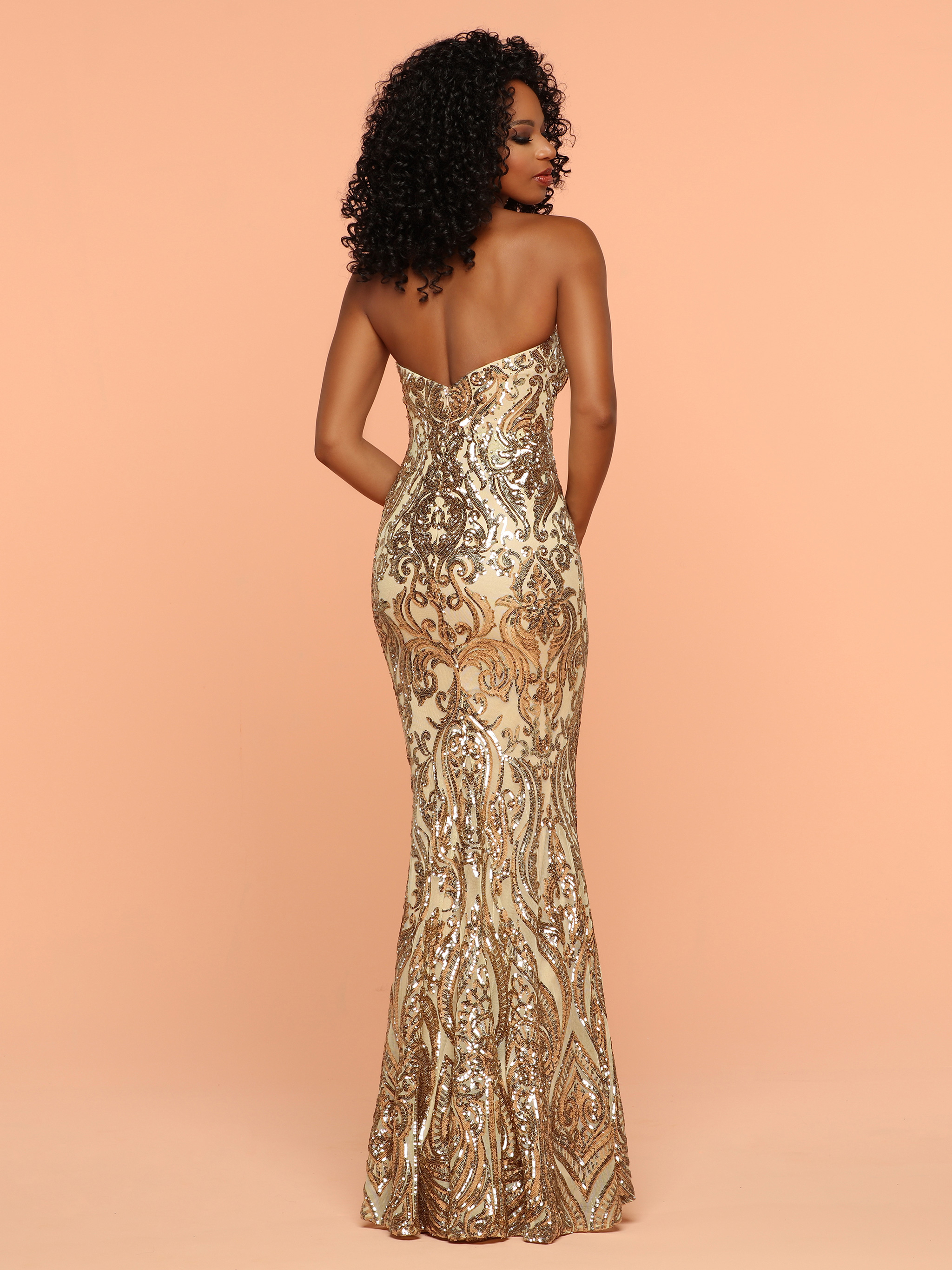 Image showing back view of style #71832