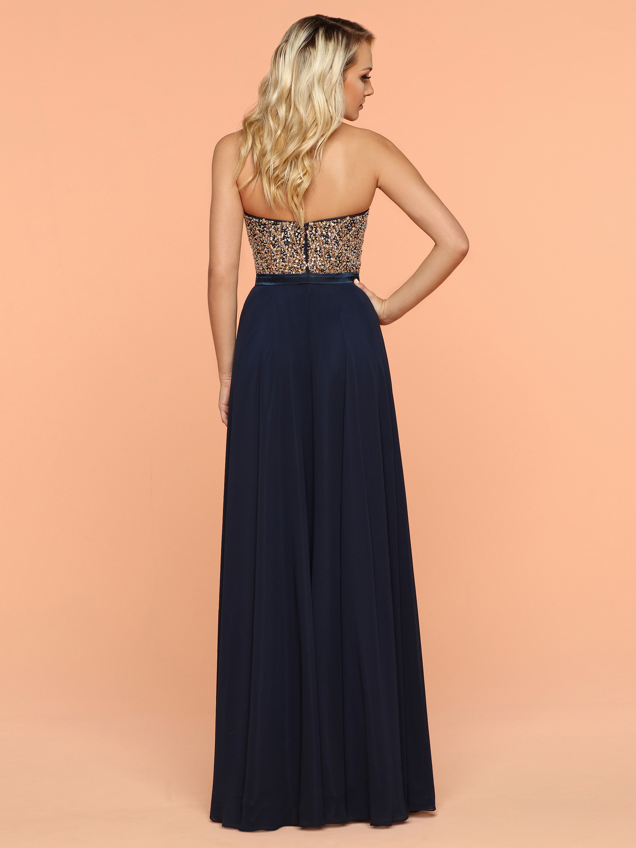 Image showing back view of style #71842
