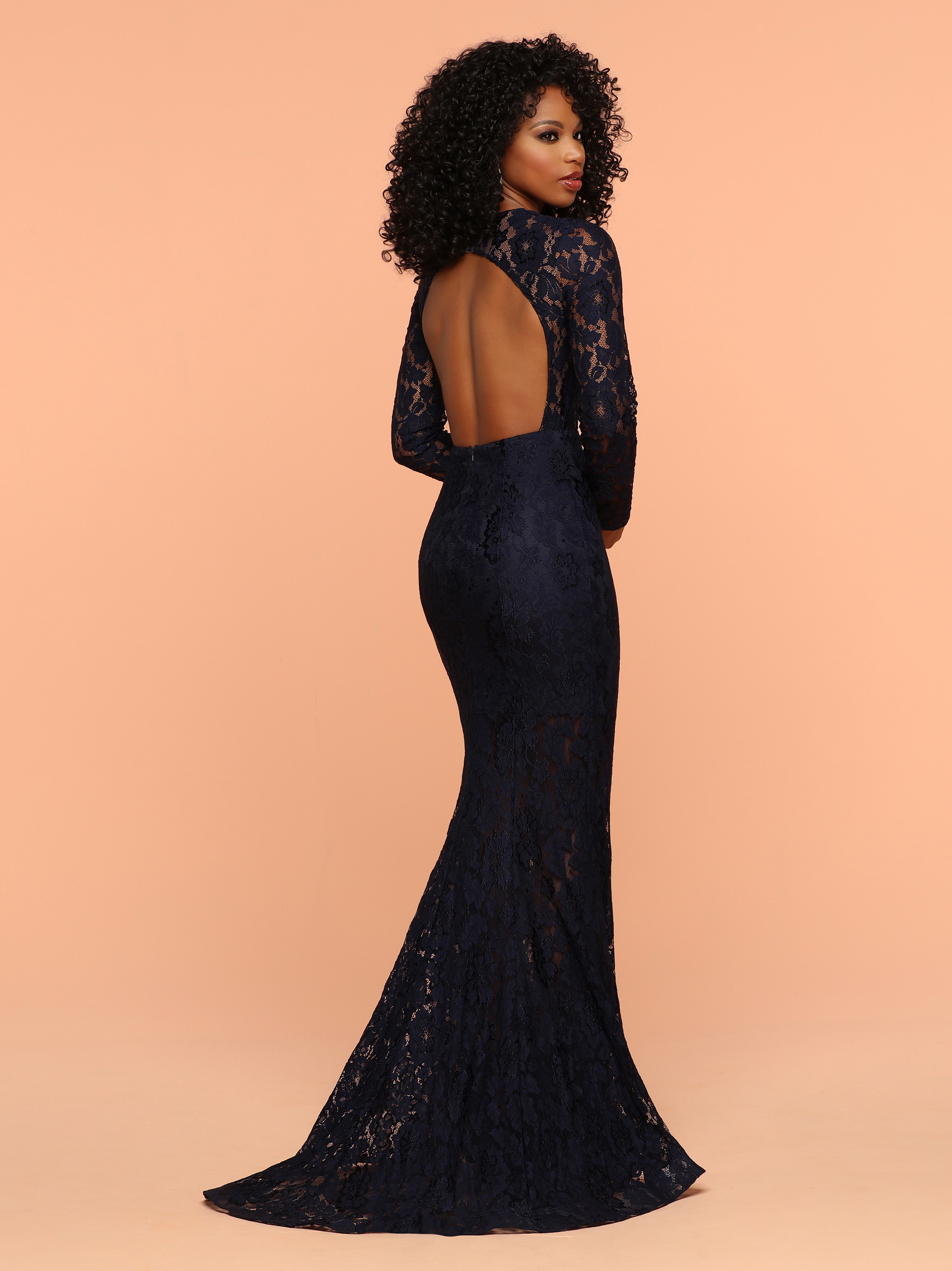 Image showing back view of style #71854