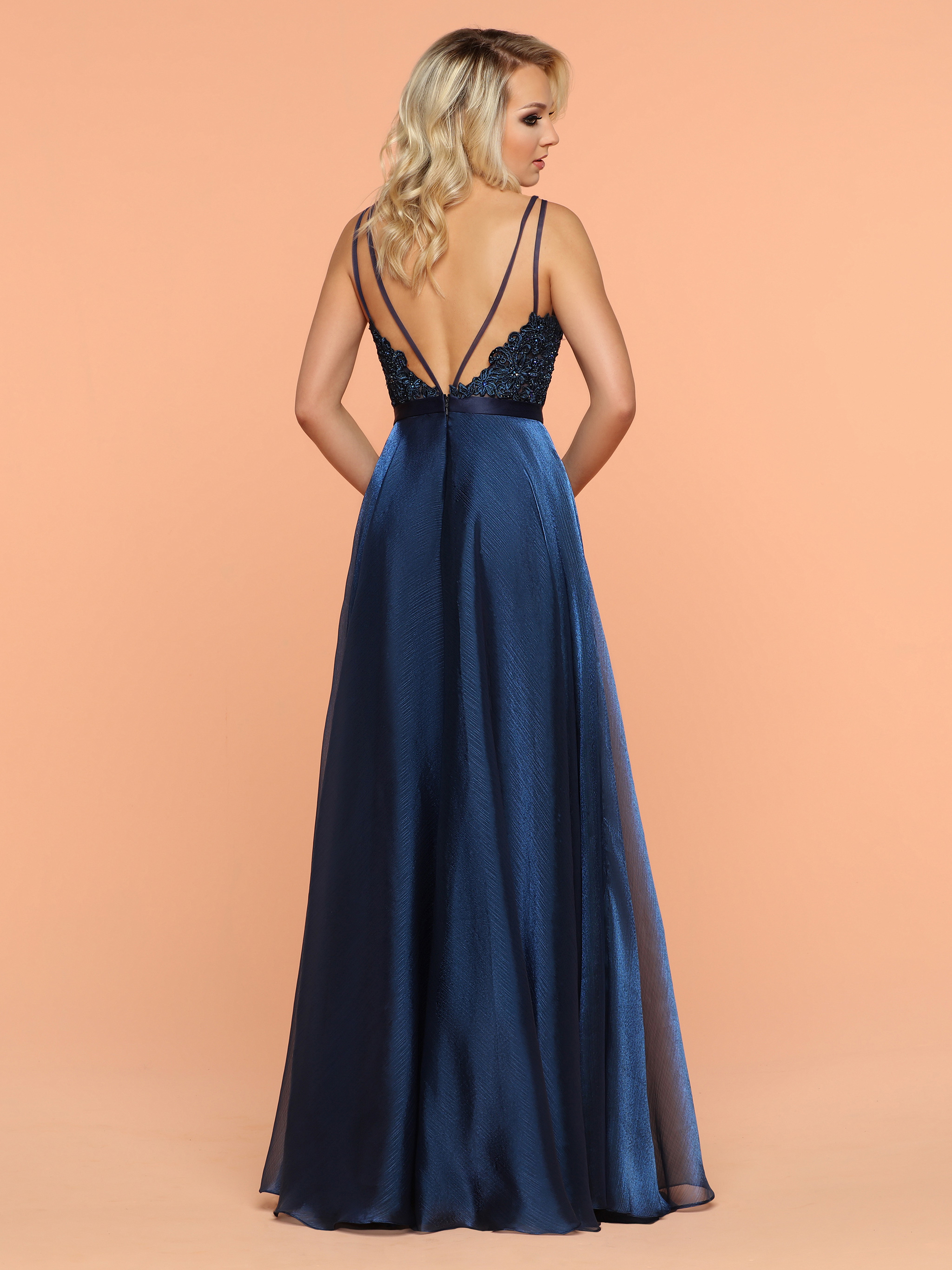Image showing back view of style #71857