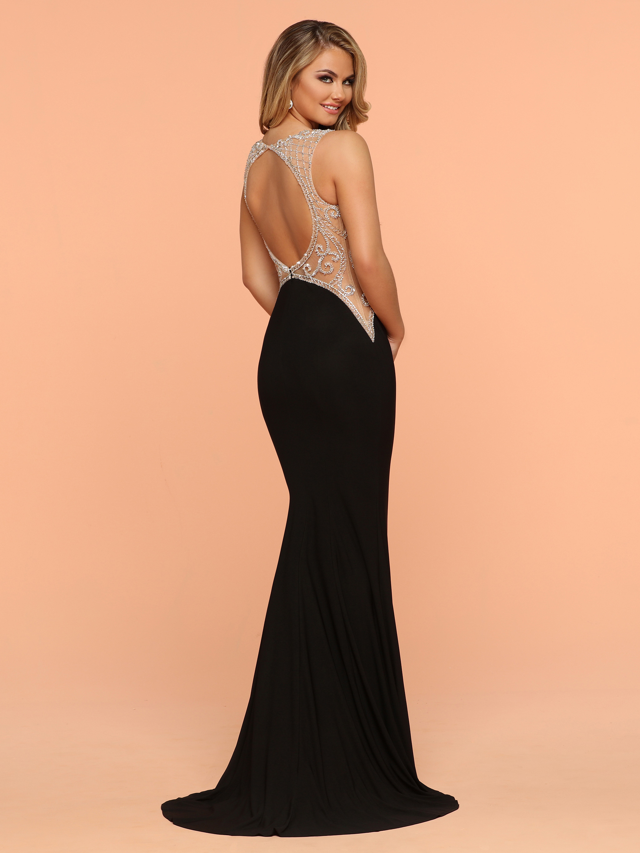 Image showing back view of style #71860