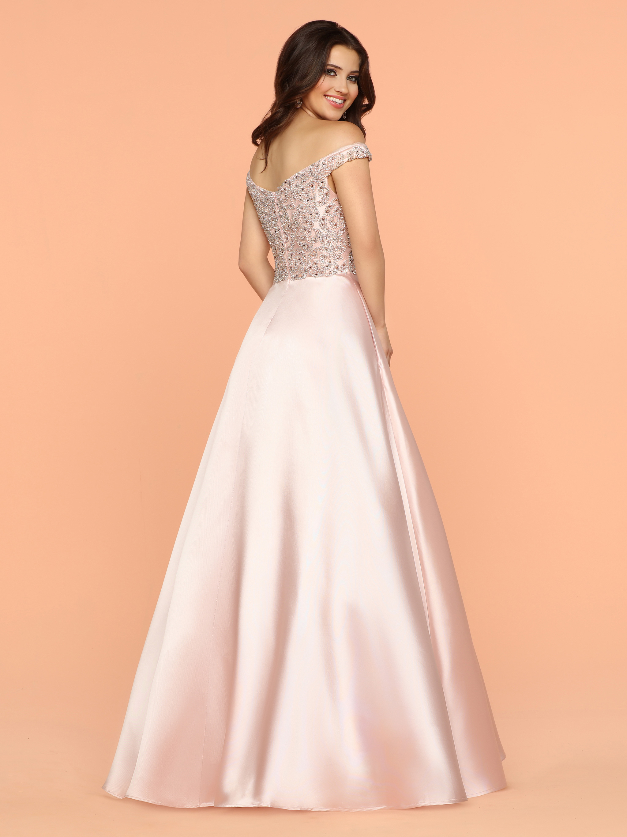 Image showing back view of style #71861