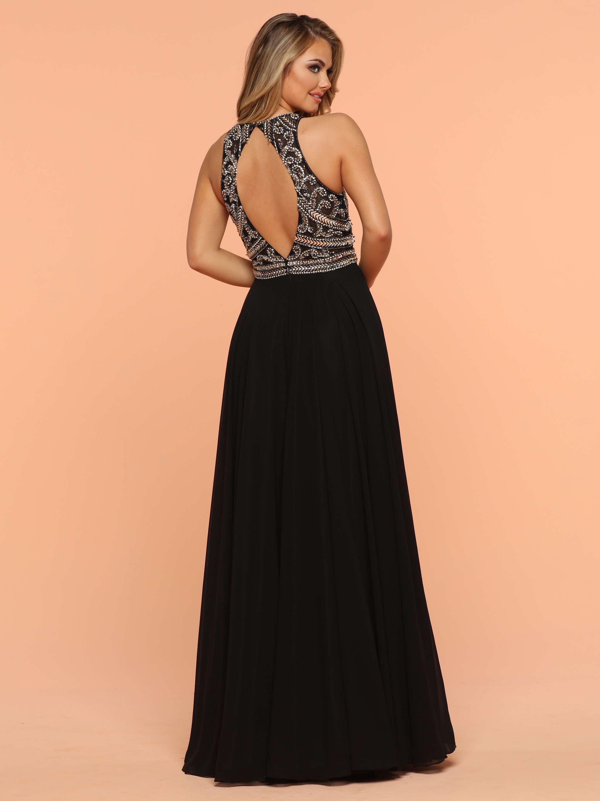 Image showing back view of style #71875