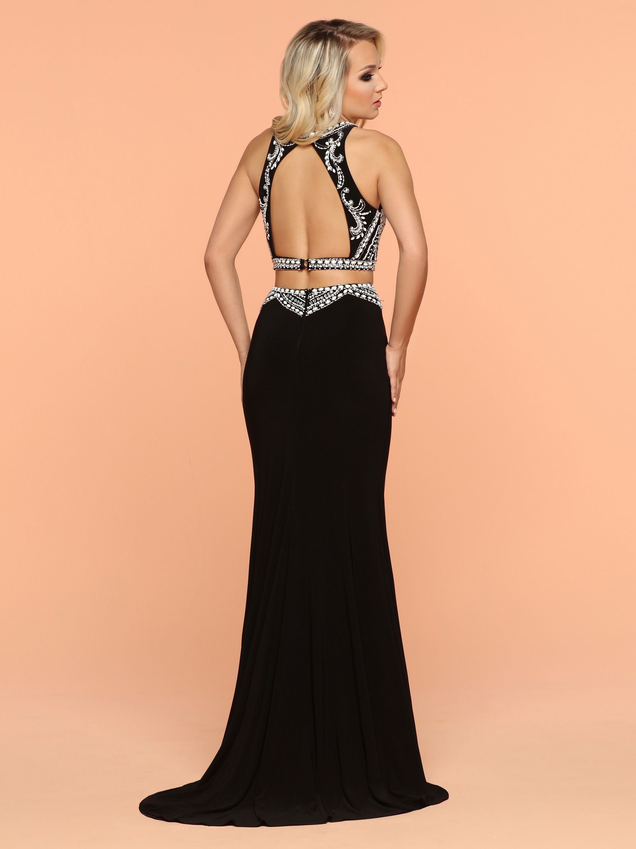 Image showing back view of style #71885