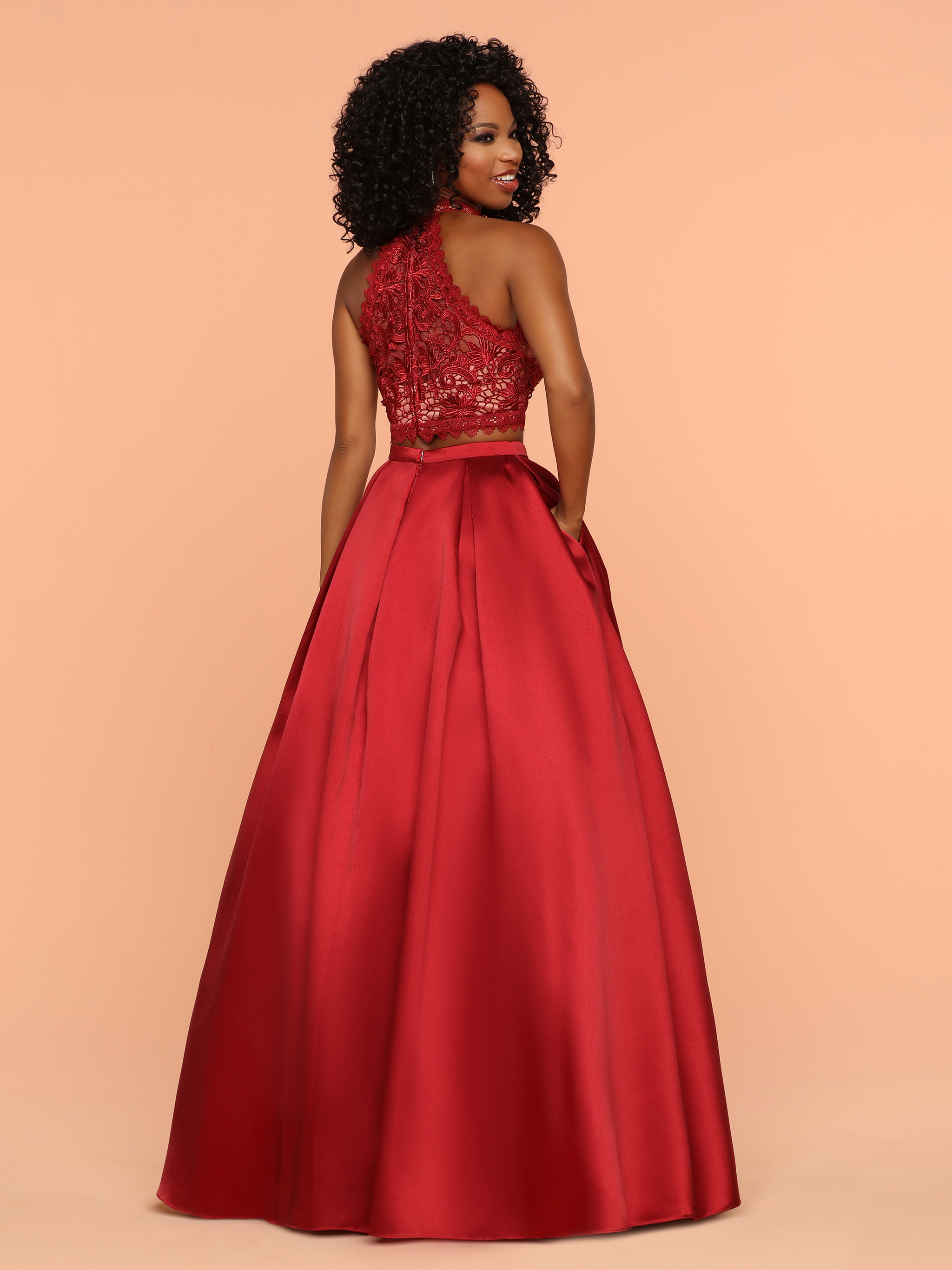 Image showing back view of style #71887