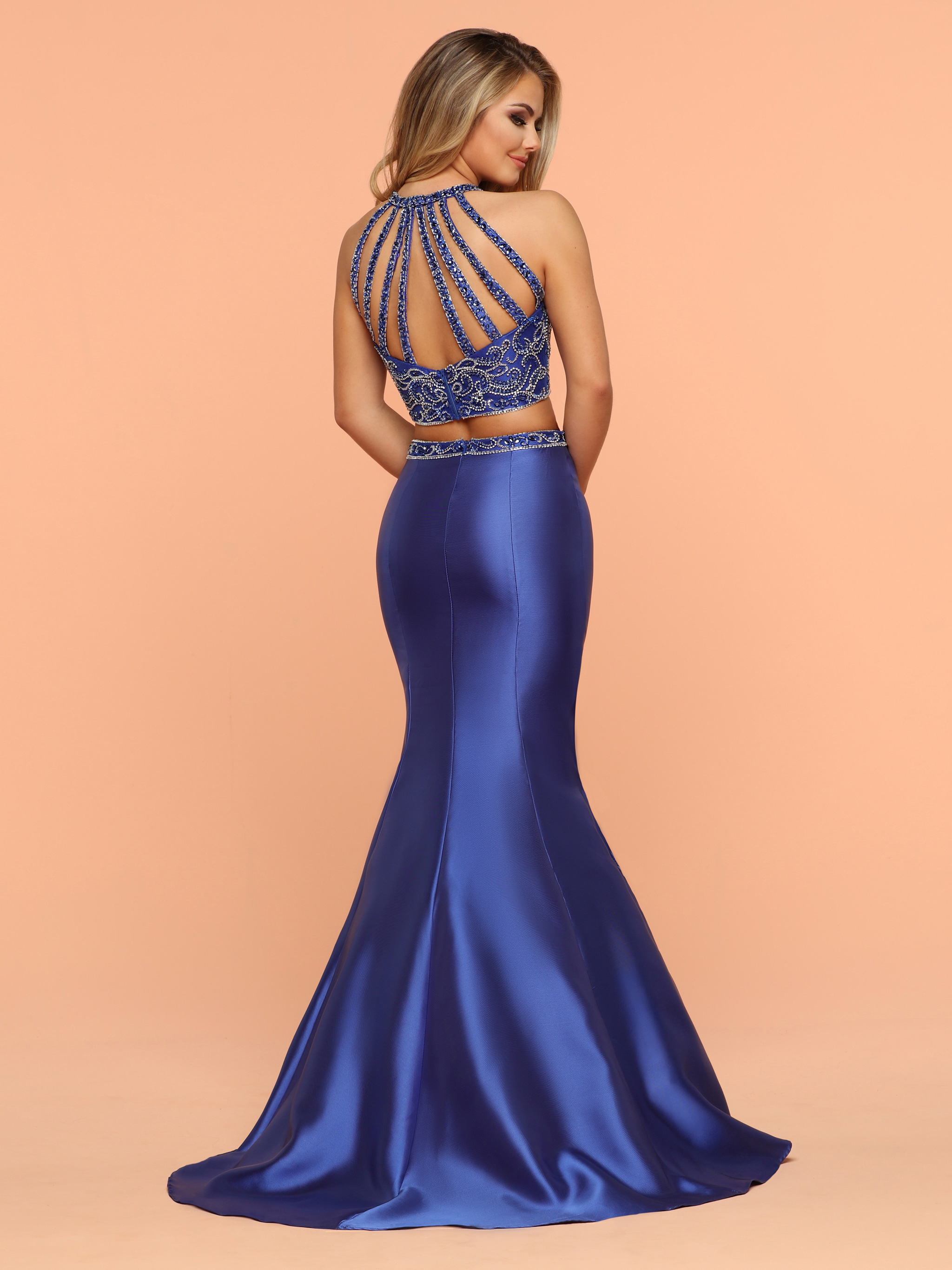 Image showing back view of style #71892