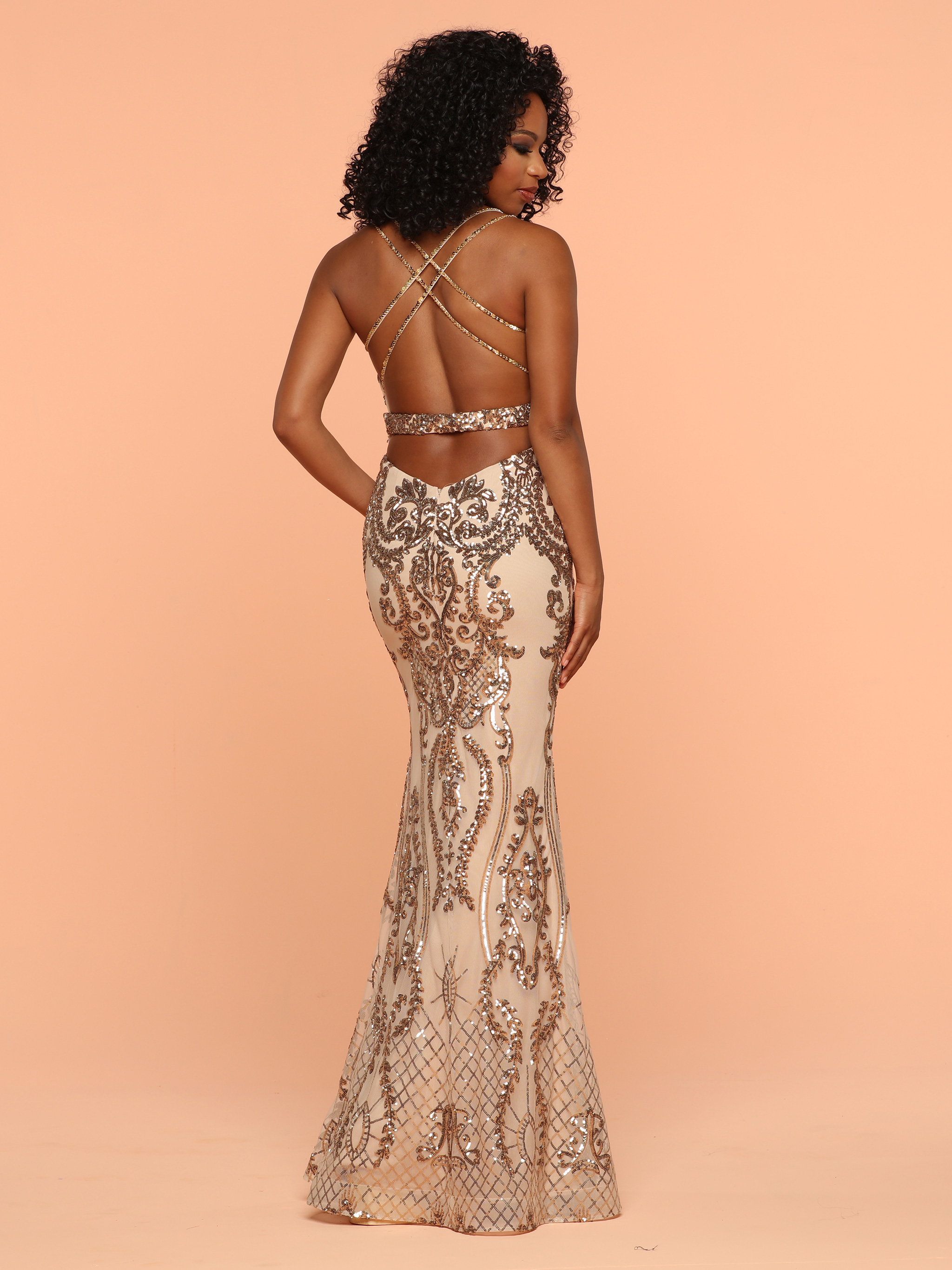 Image showing back view of style #71905