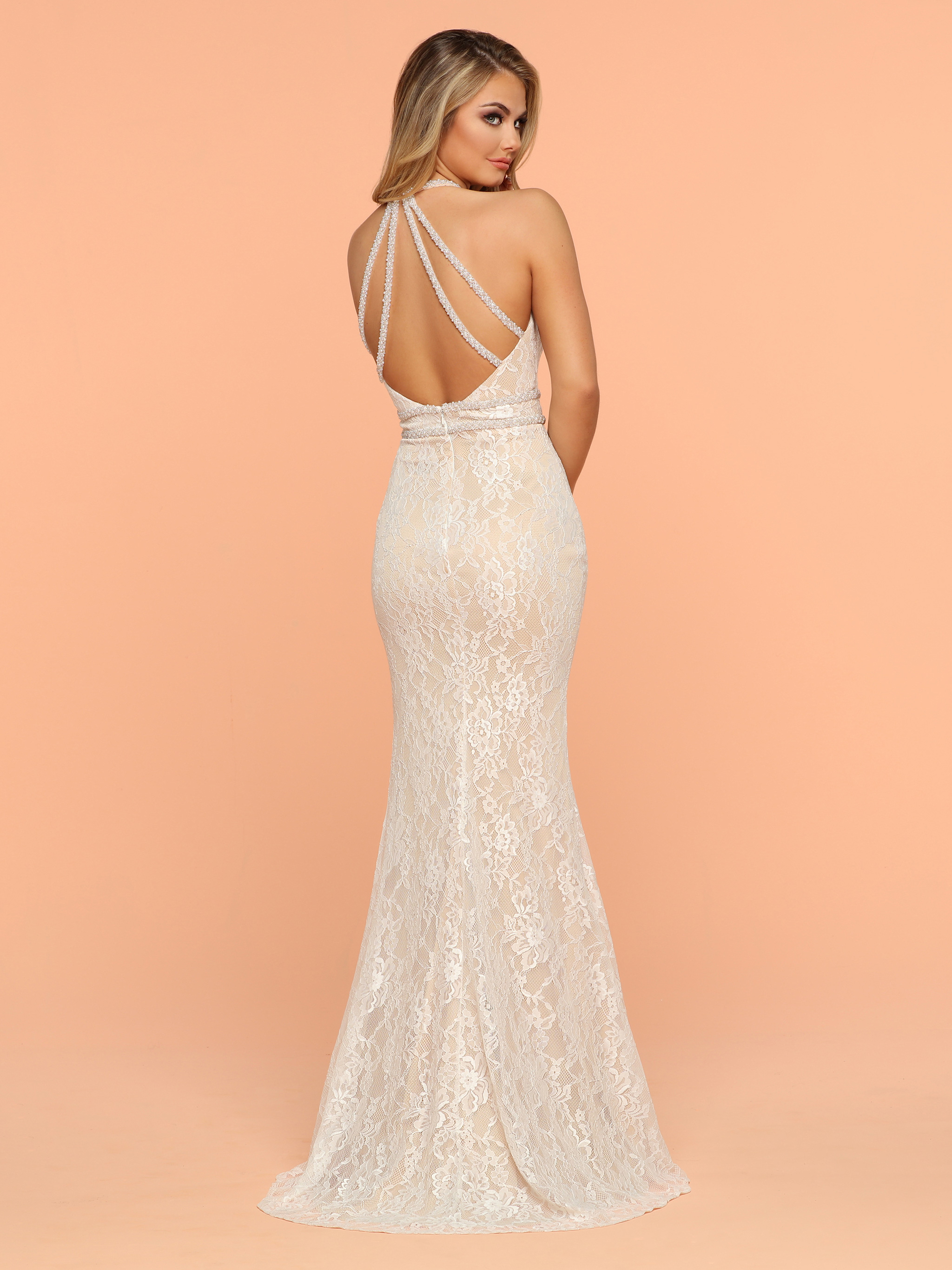 Image showing back view of style #71908