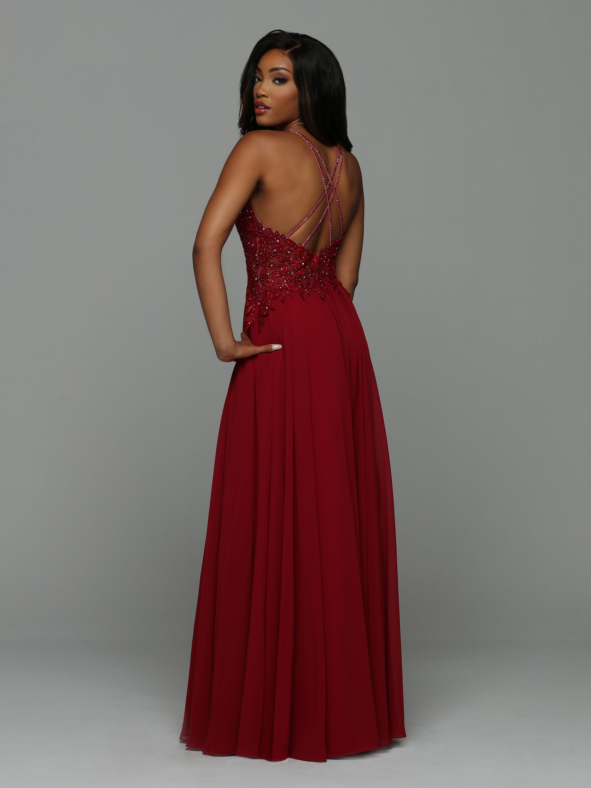 Back view of Style : 71922
