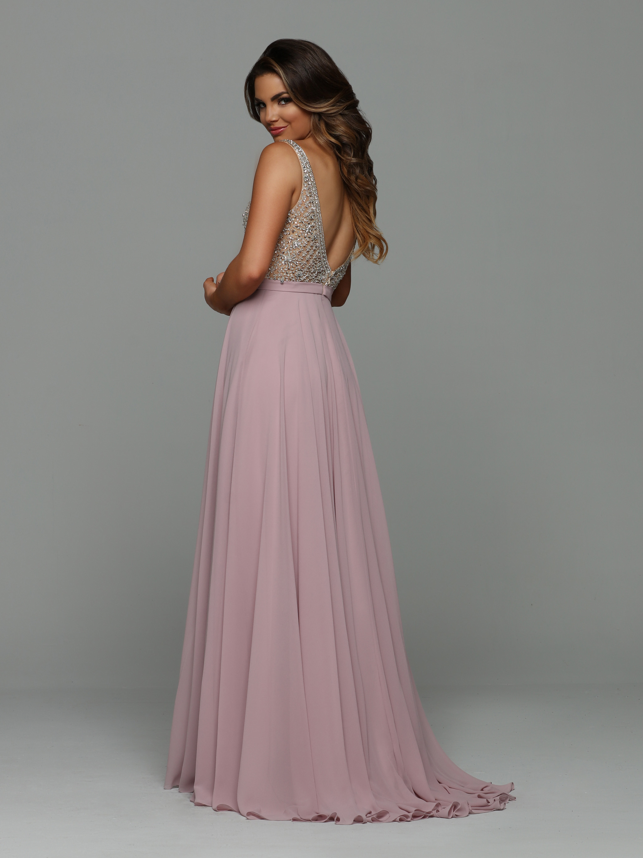 Image showing back view of style #71931