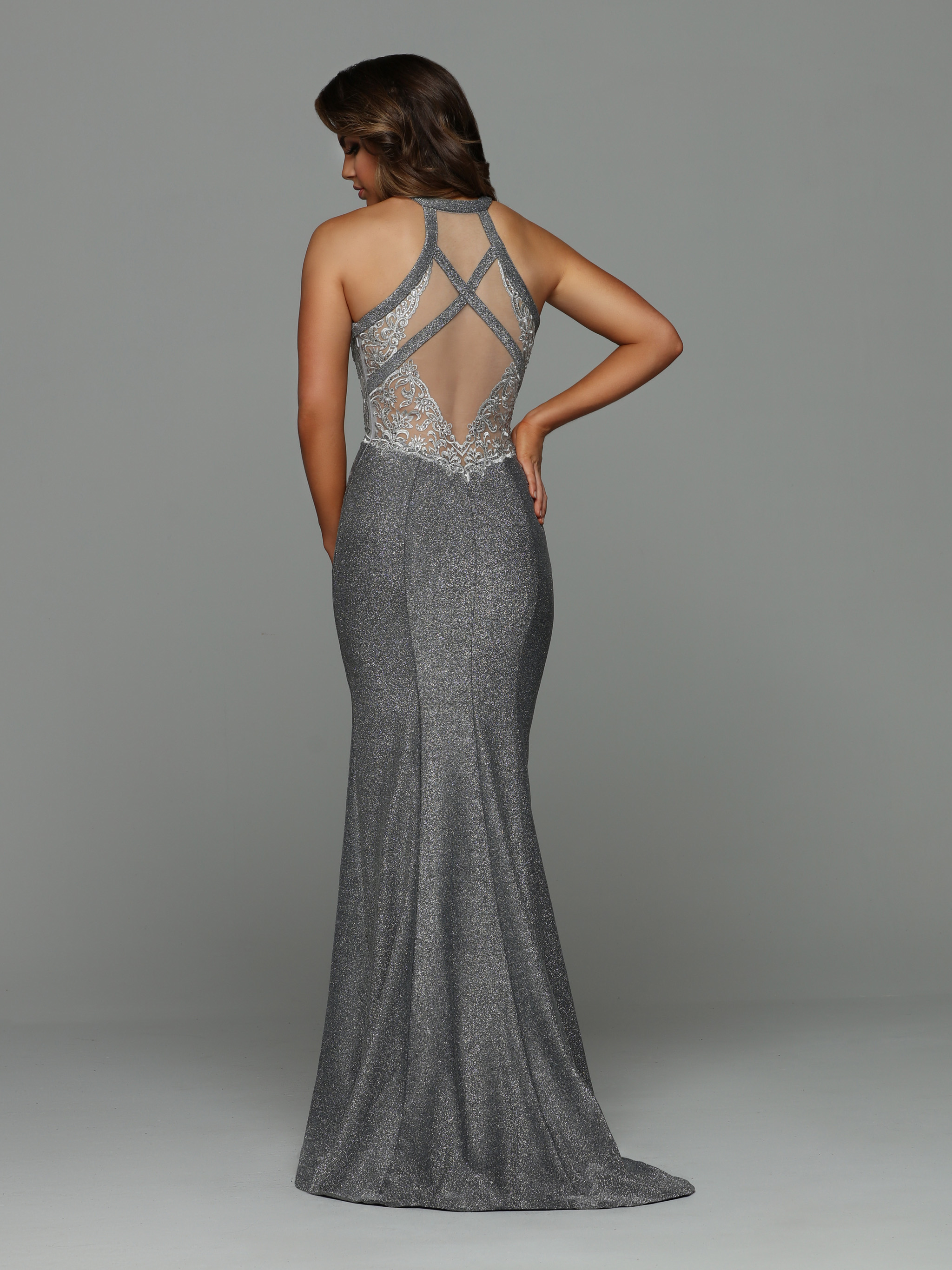 Image showing back view of style #71950