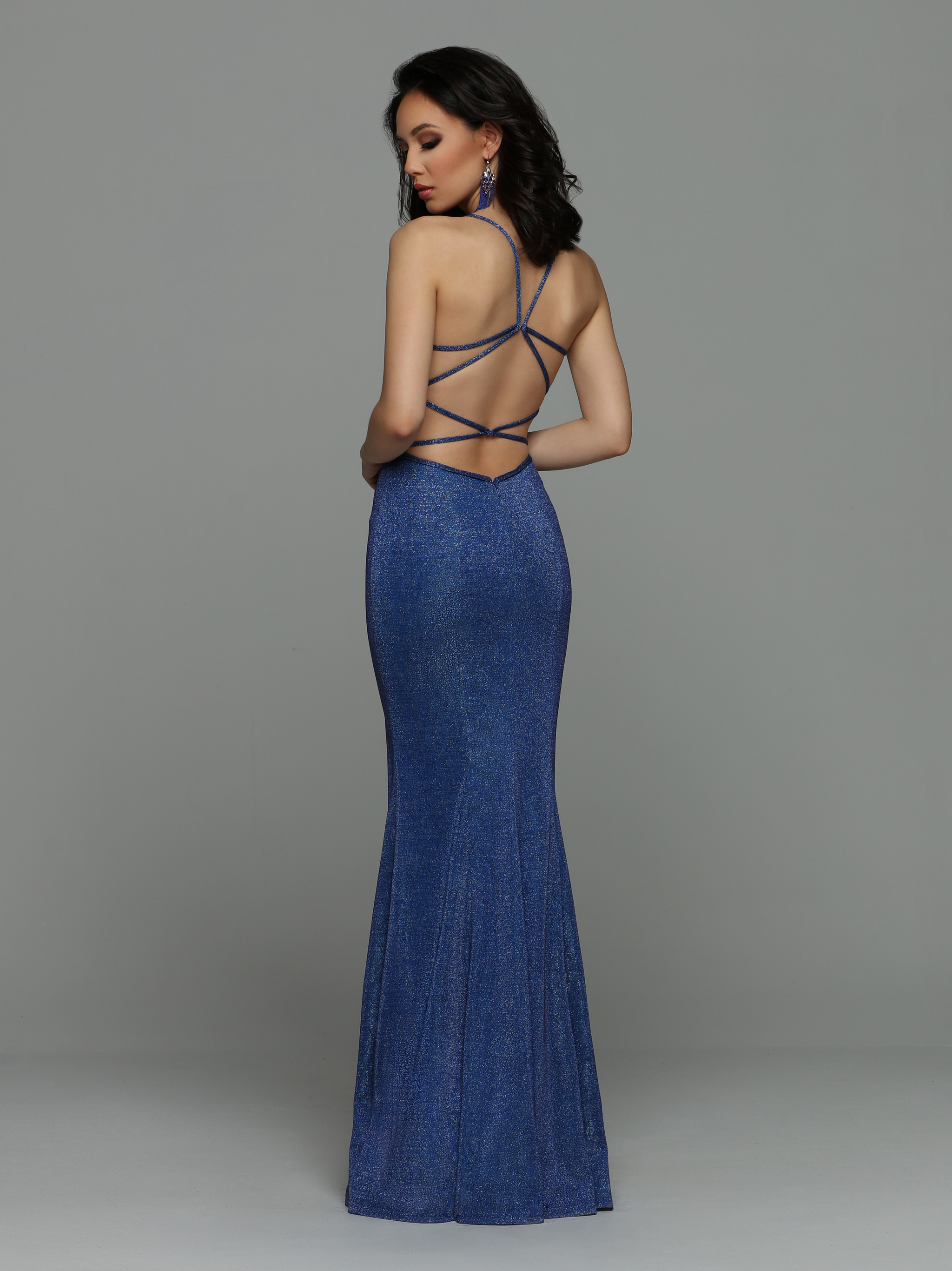 Image showing back view of style #71955