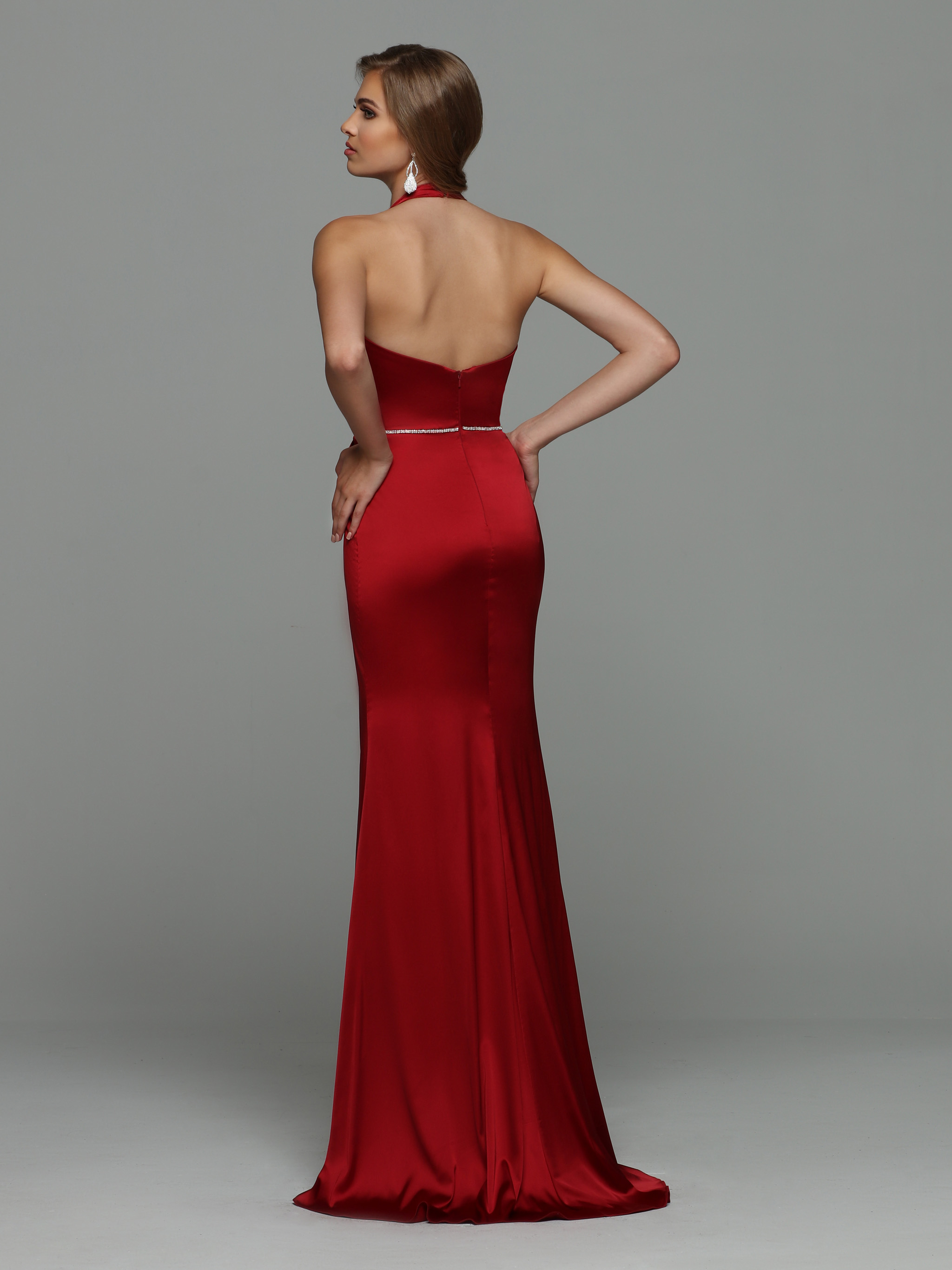 Image showing back view of style #71968
