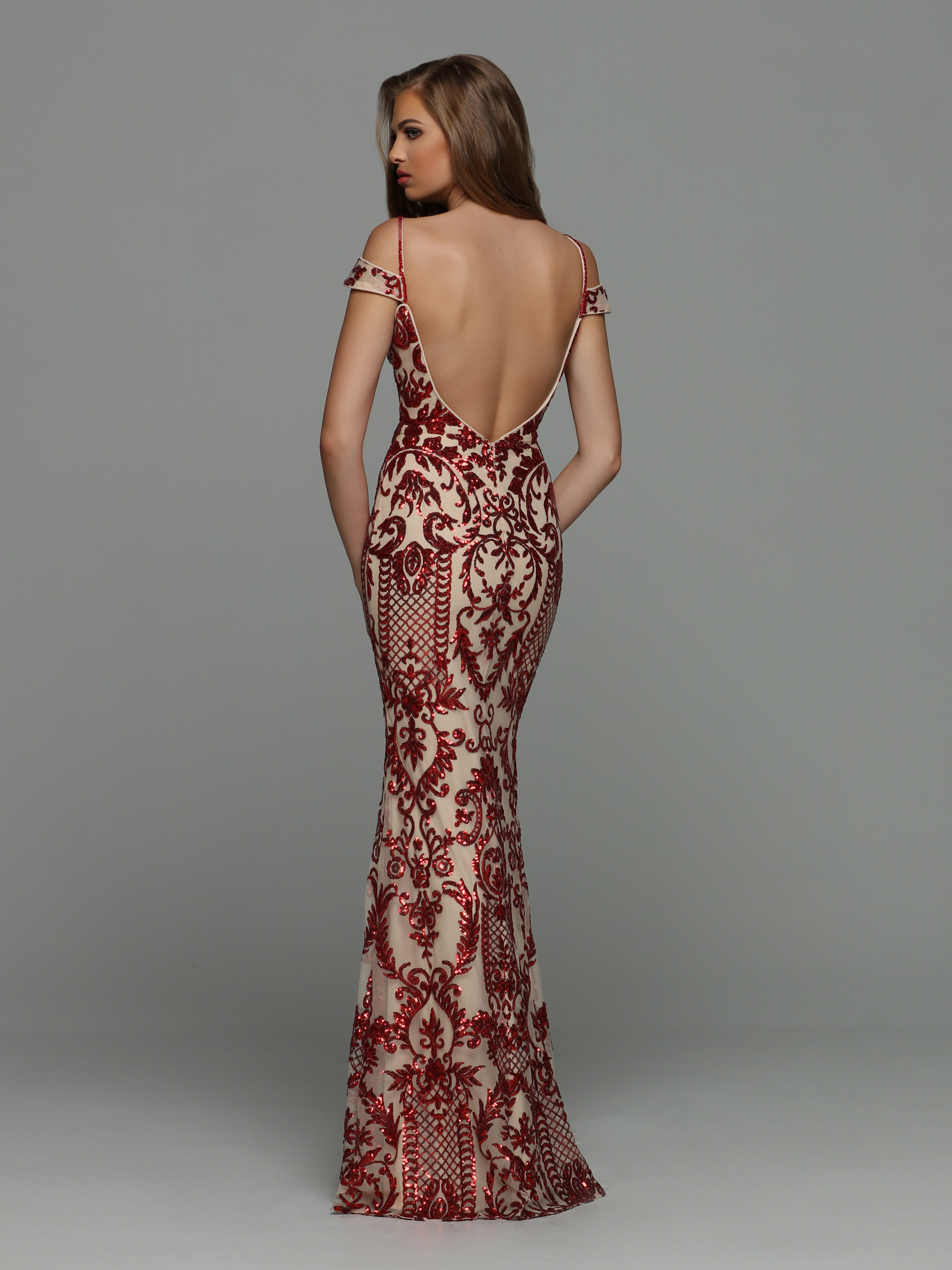 Image showing back view of style #71971