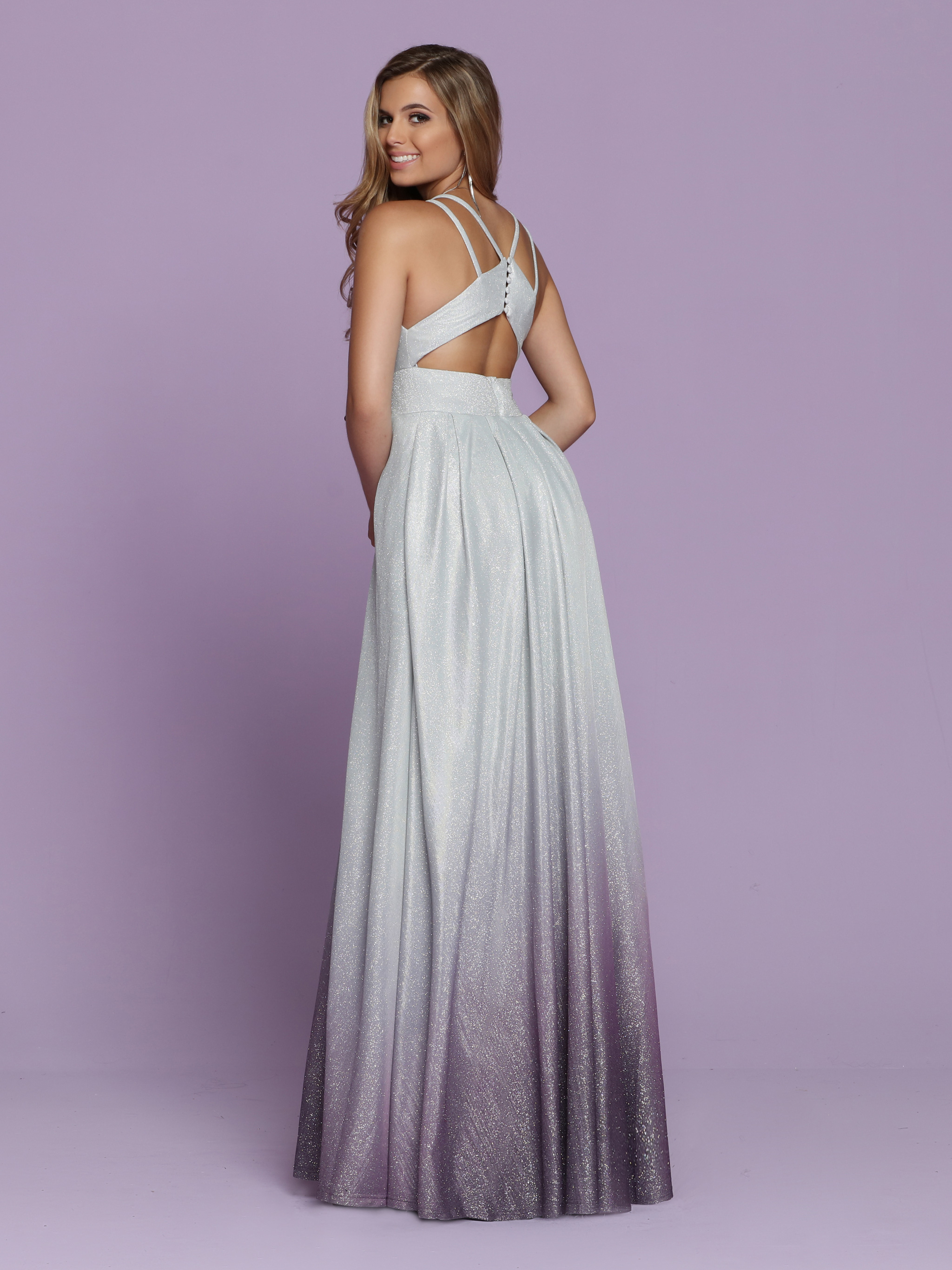 Image showing back view of style #72036